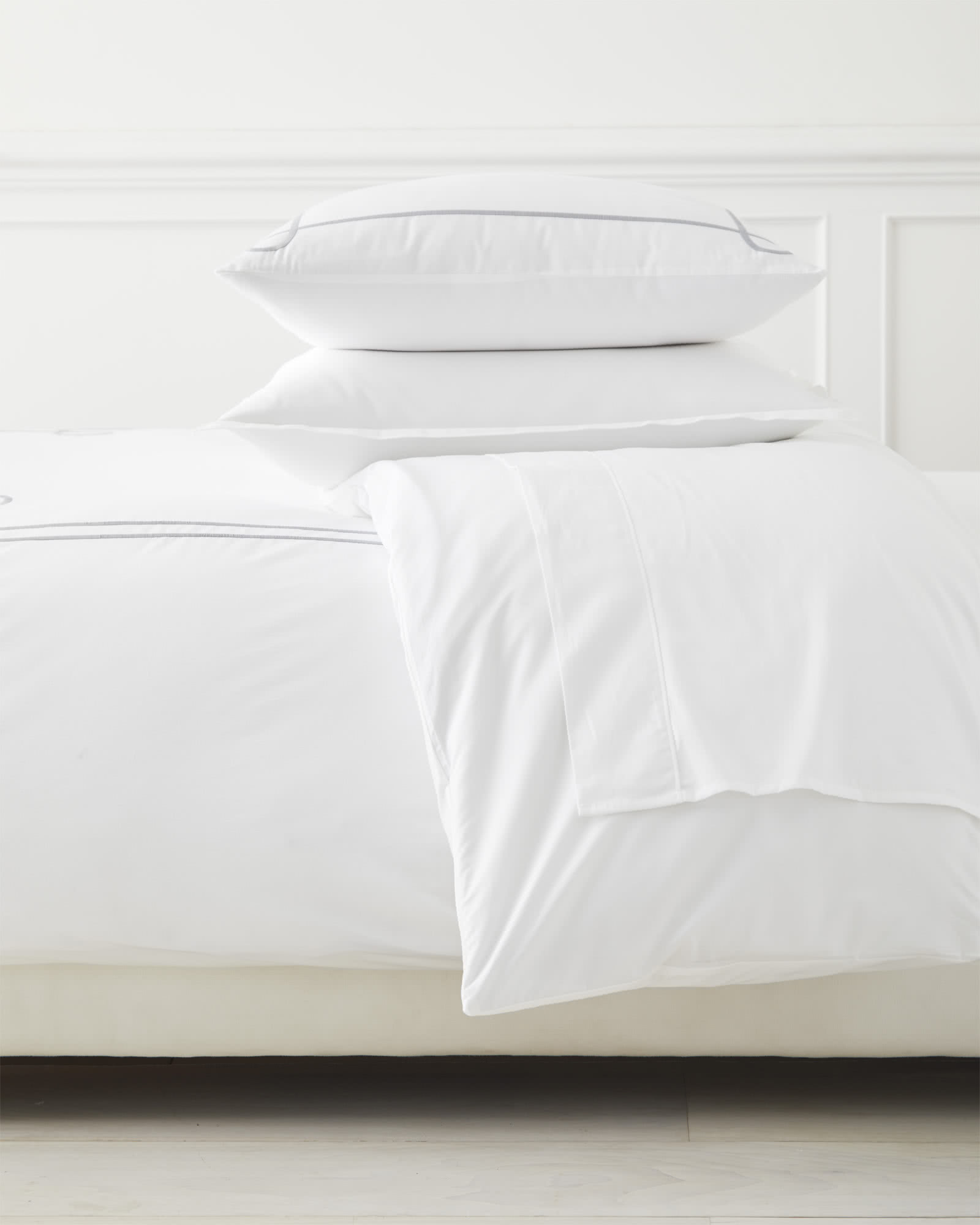 Southport Duvet Cover, Smoke
