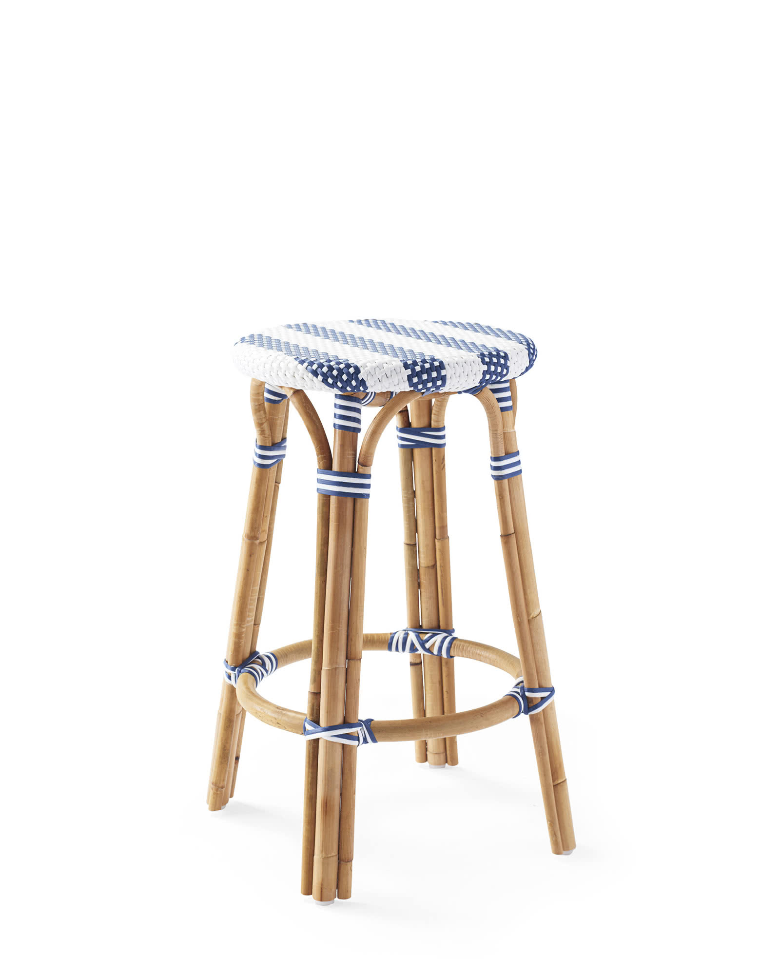 Riviera Backless Counter Stool - Striped,