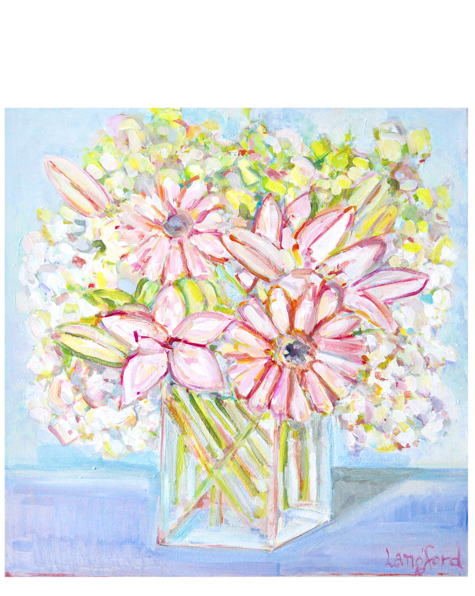 """Lily Floral"" by Langford Barksdale,"