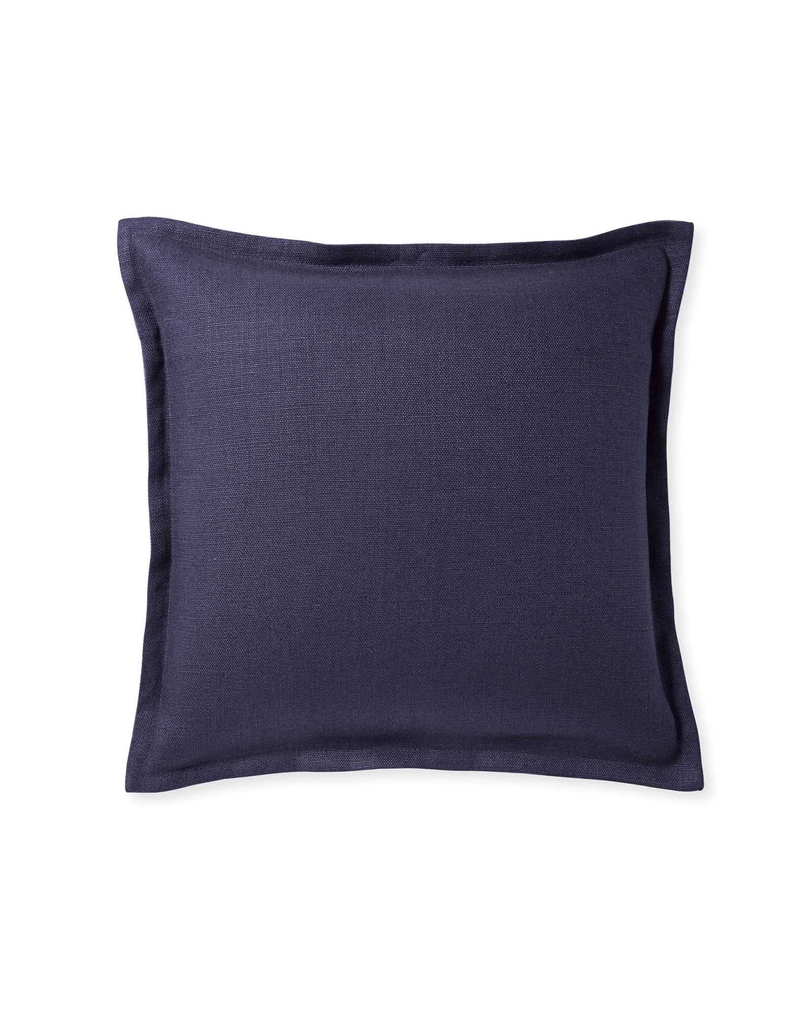 Two Tone Zip Pillow Cover, Ink/Denim