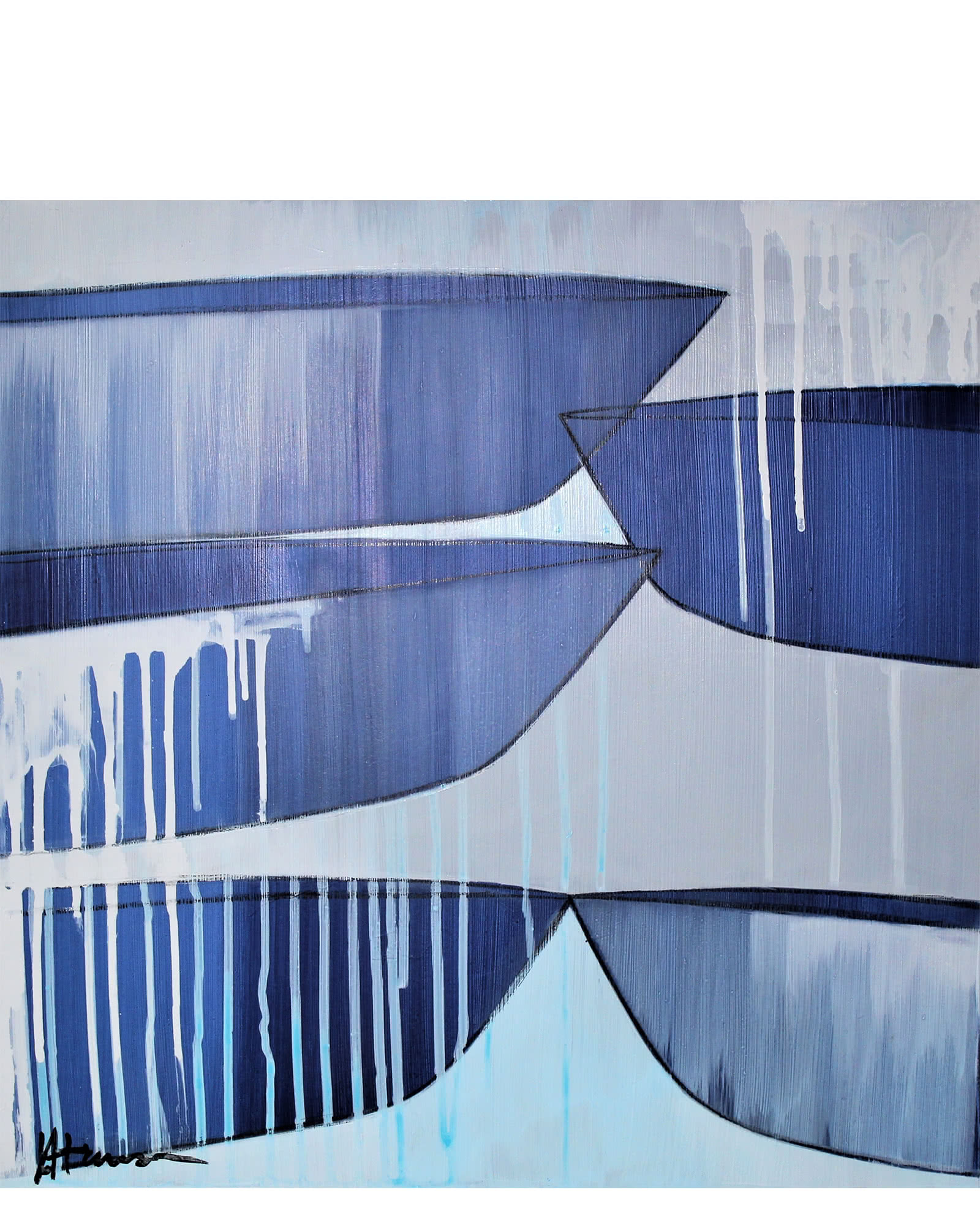 """Wave Crest"" by Julie Hansen,"
