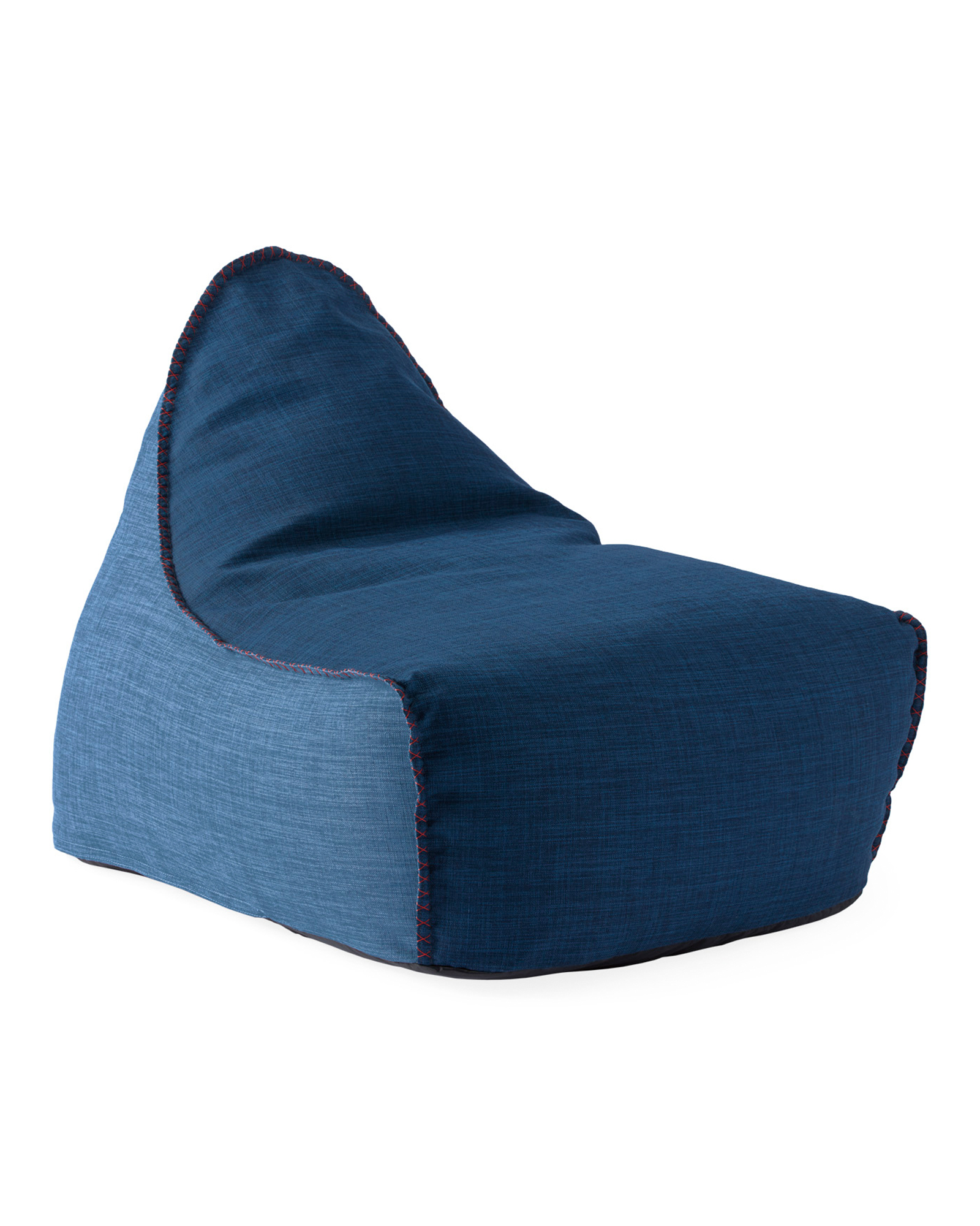 Newport Lounger - Solid, Midnight Blue