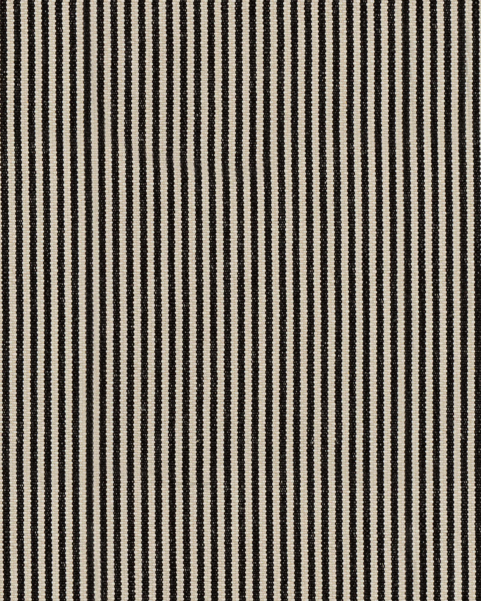 Fabric by the Yard – Pinstripe Cotton Fabric, Black