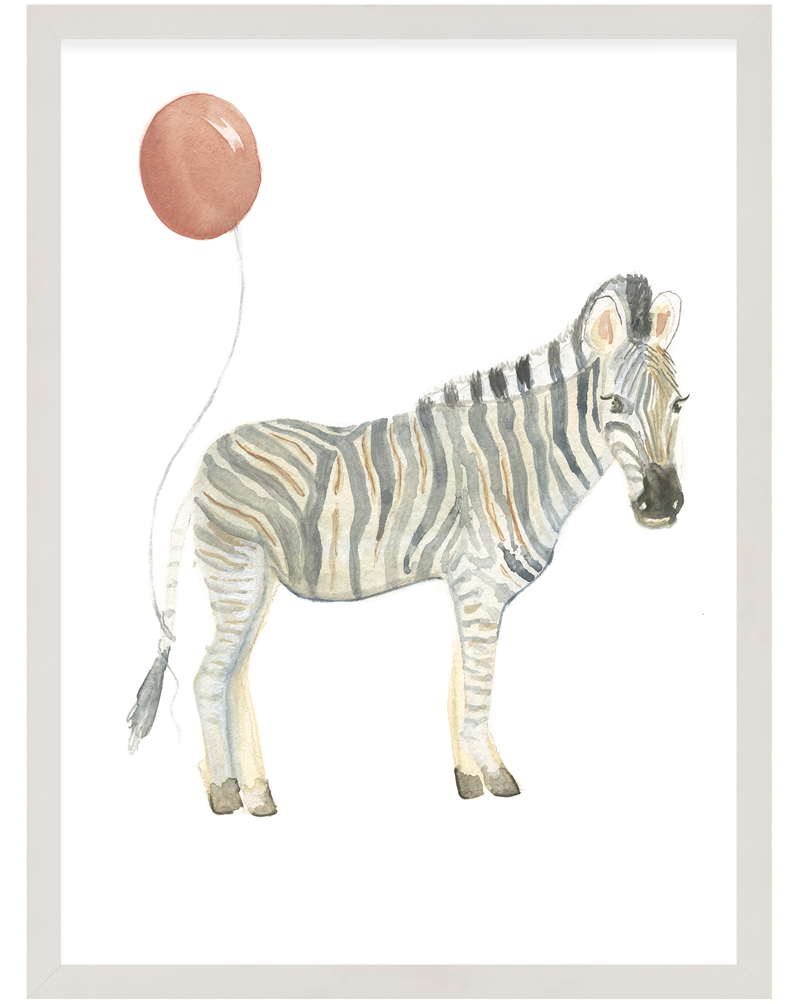 """Party Animals - Zebra"" by Fours Are Yellow ,"