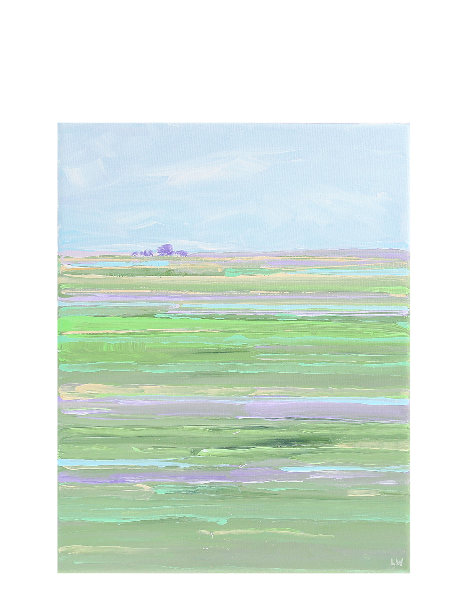 """Lavender and Green"" by Laurie Winthers,"