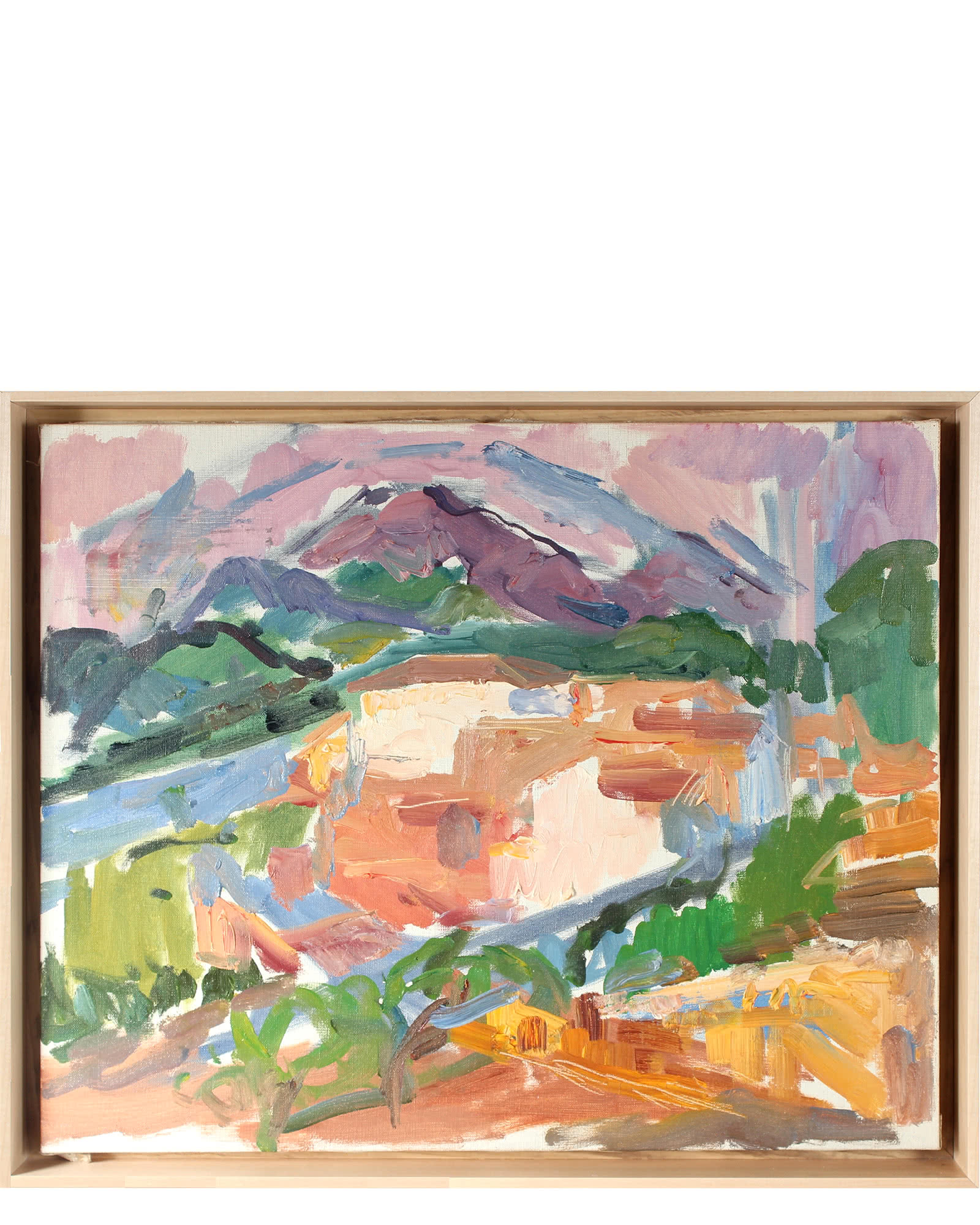 """Abstracted Landscape"" by Gerald Wasserman,"