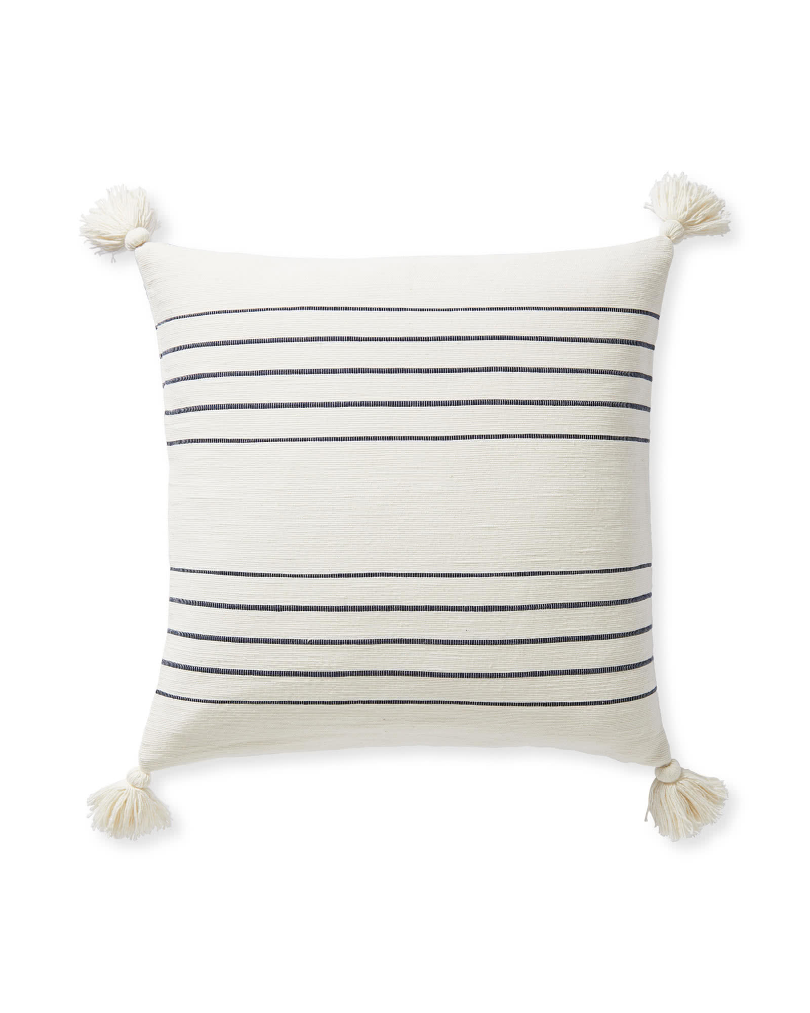 Del Mar Pillow Cover, Navy