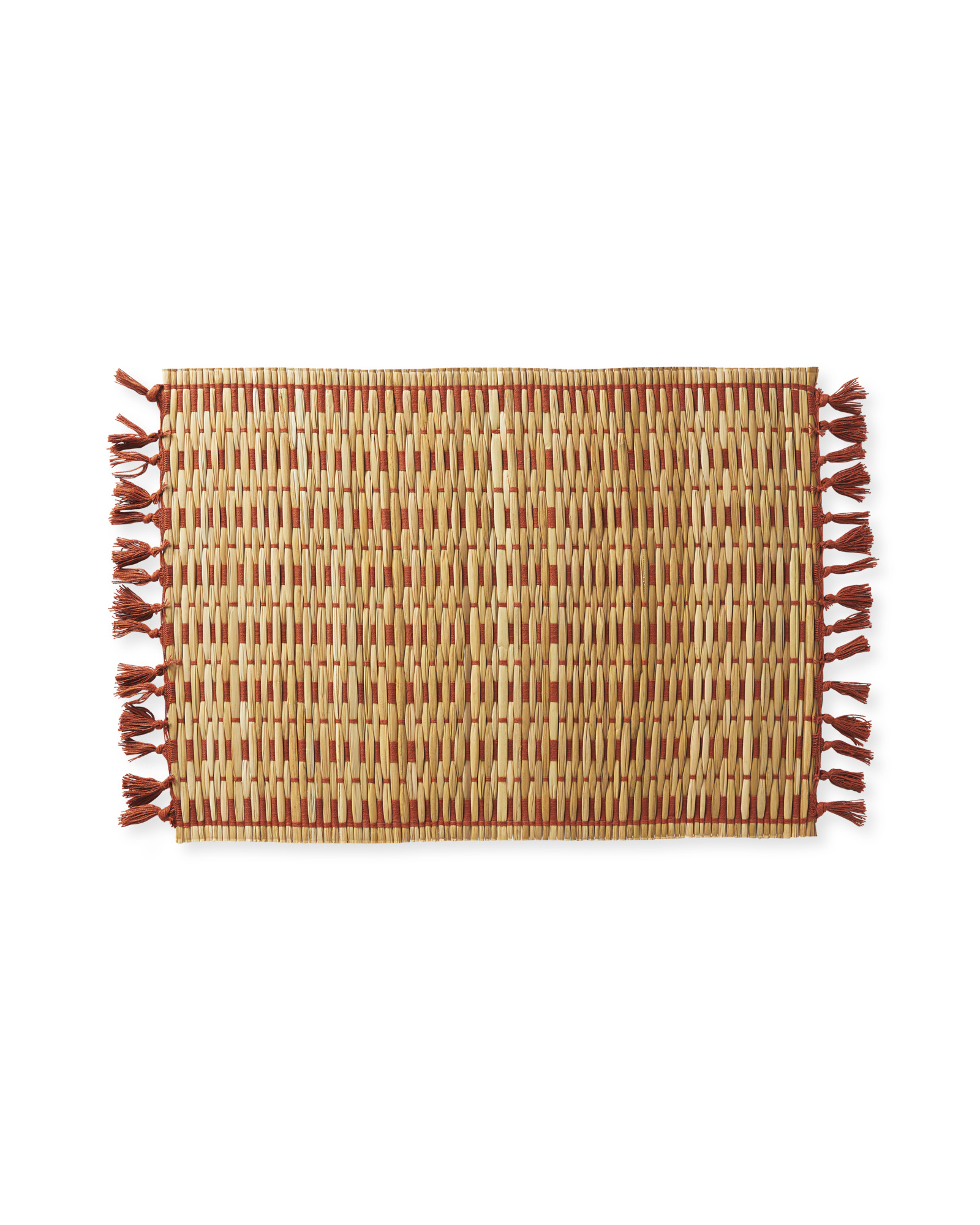 Cabo Woven Placemats (Set of 4), Terracotta