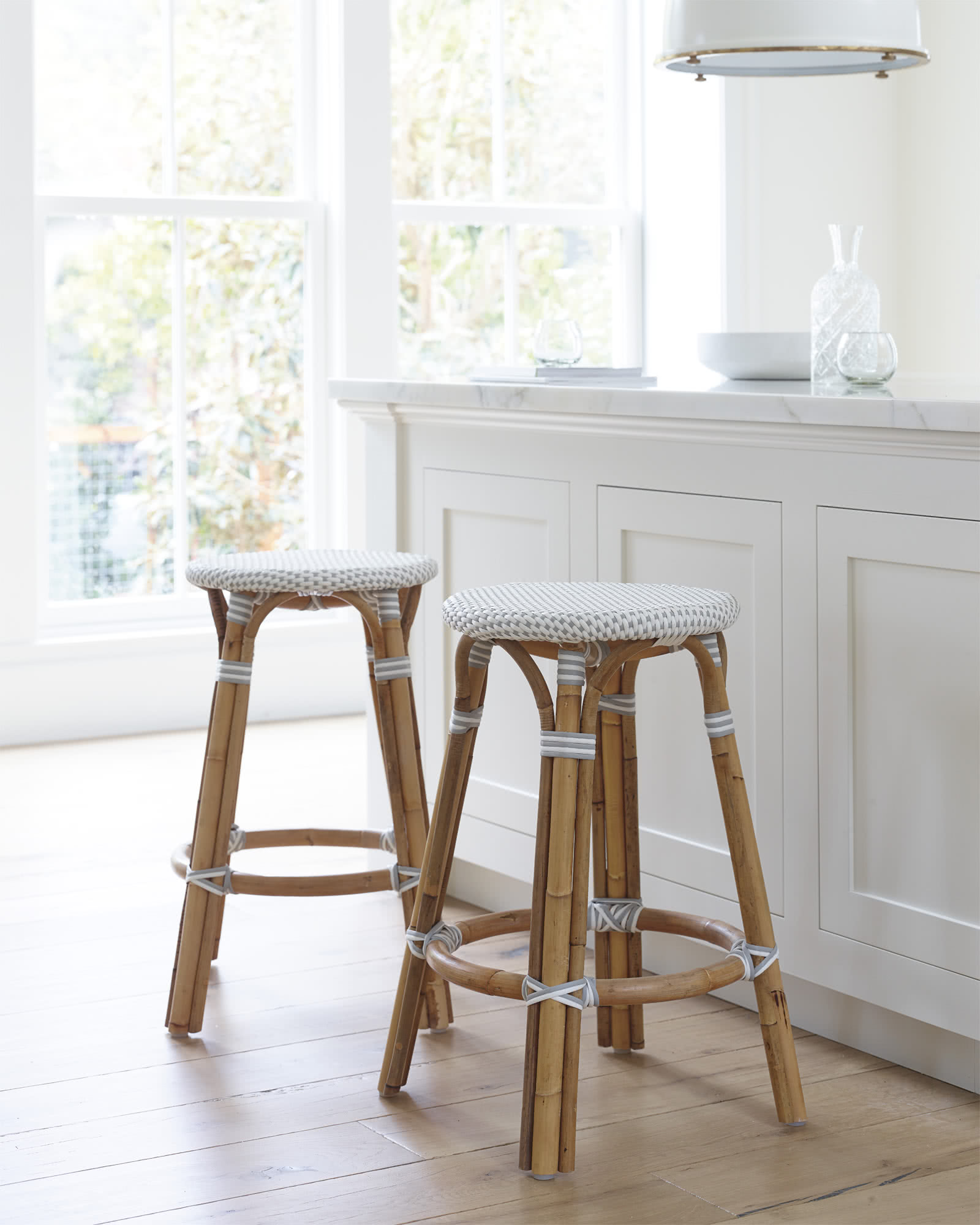 Riviera Backless Counter Stool,
