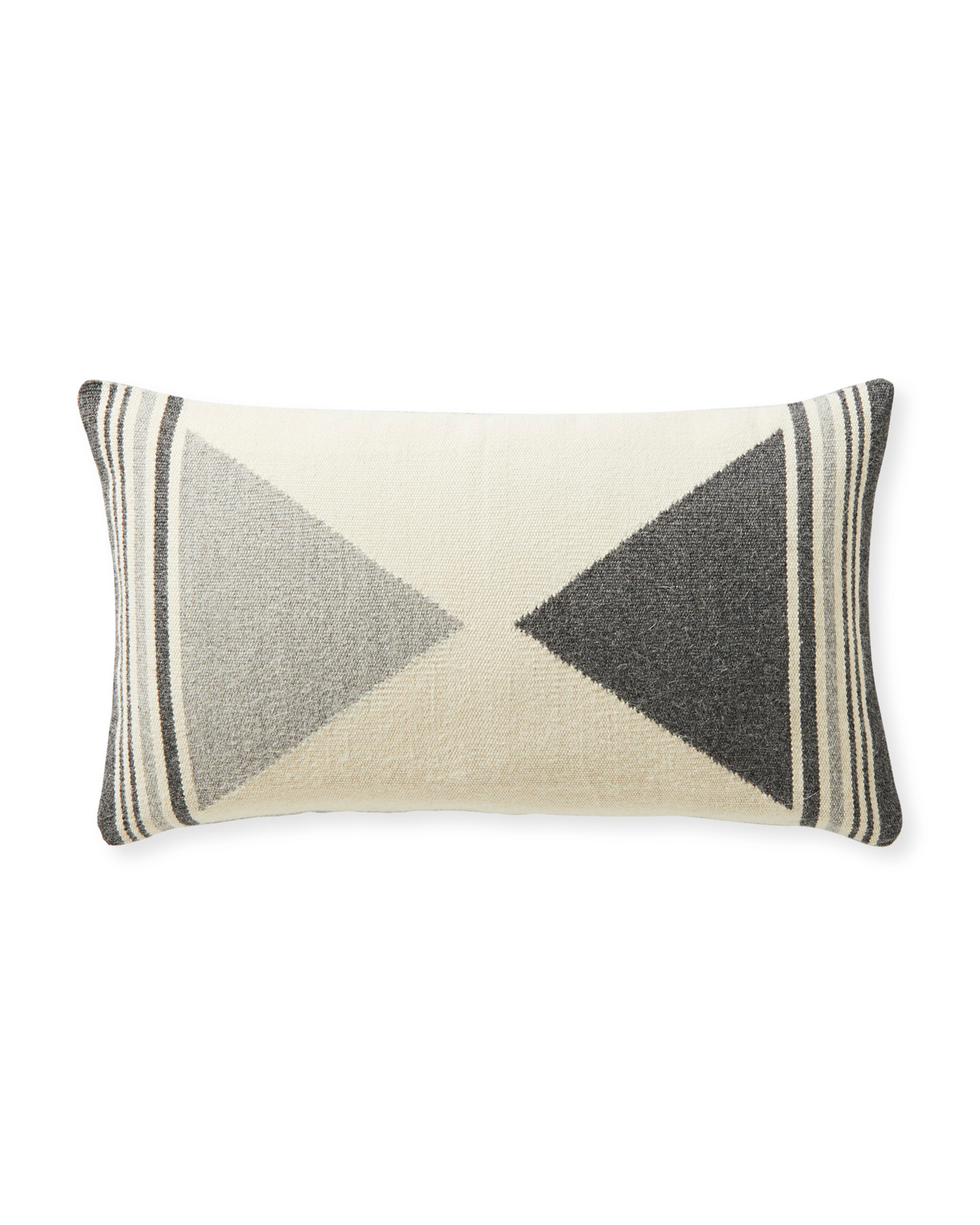 Bayview Pillow Cover, Grey