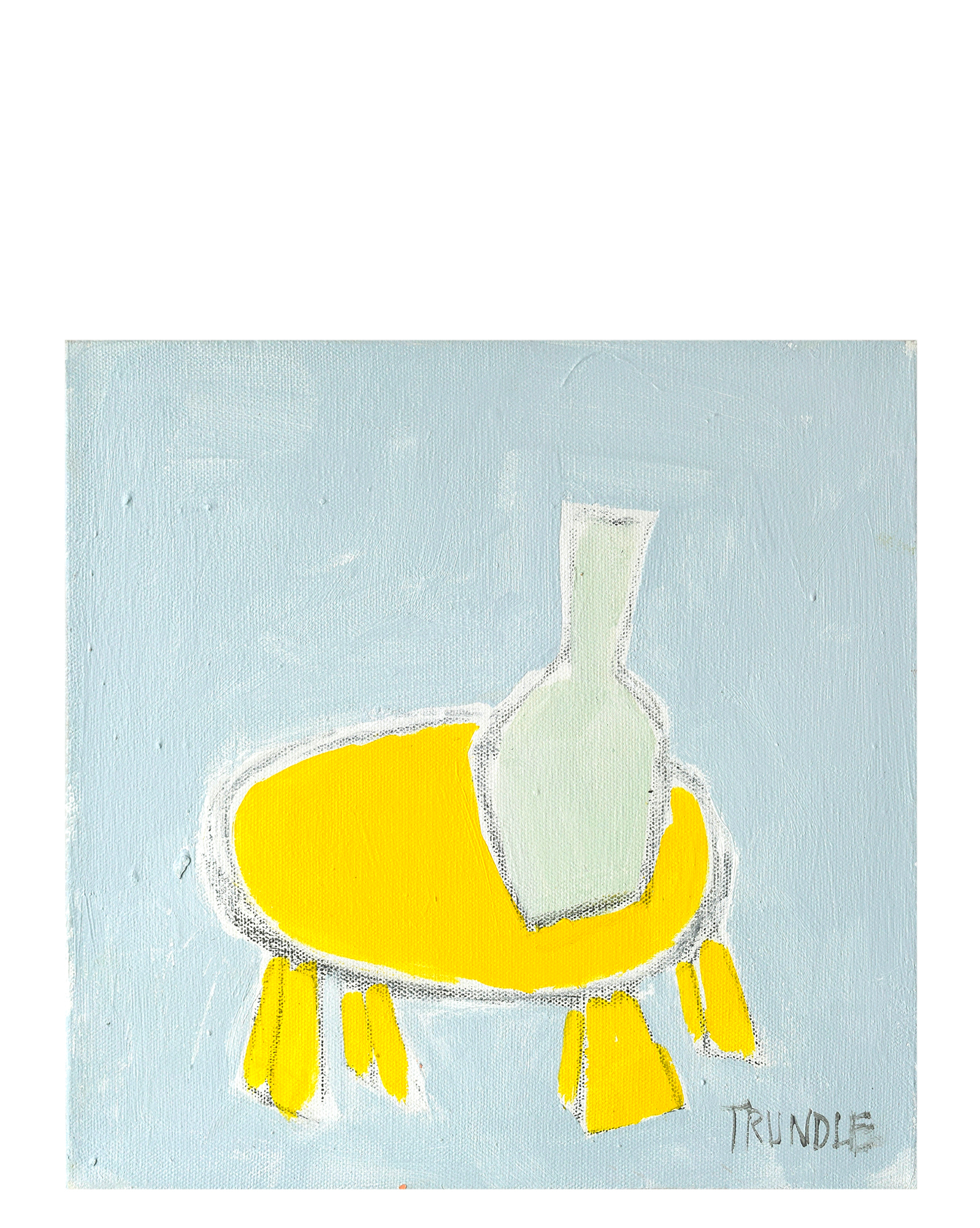 """Yellow Table"""" by Sarah Trundle,"""
