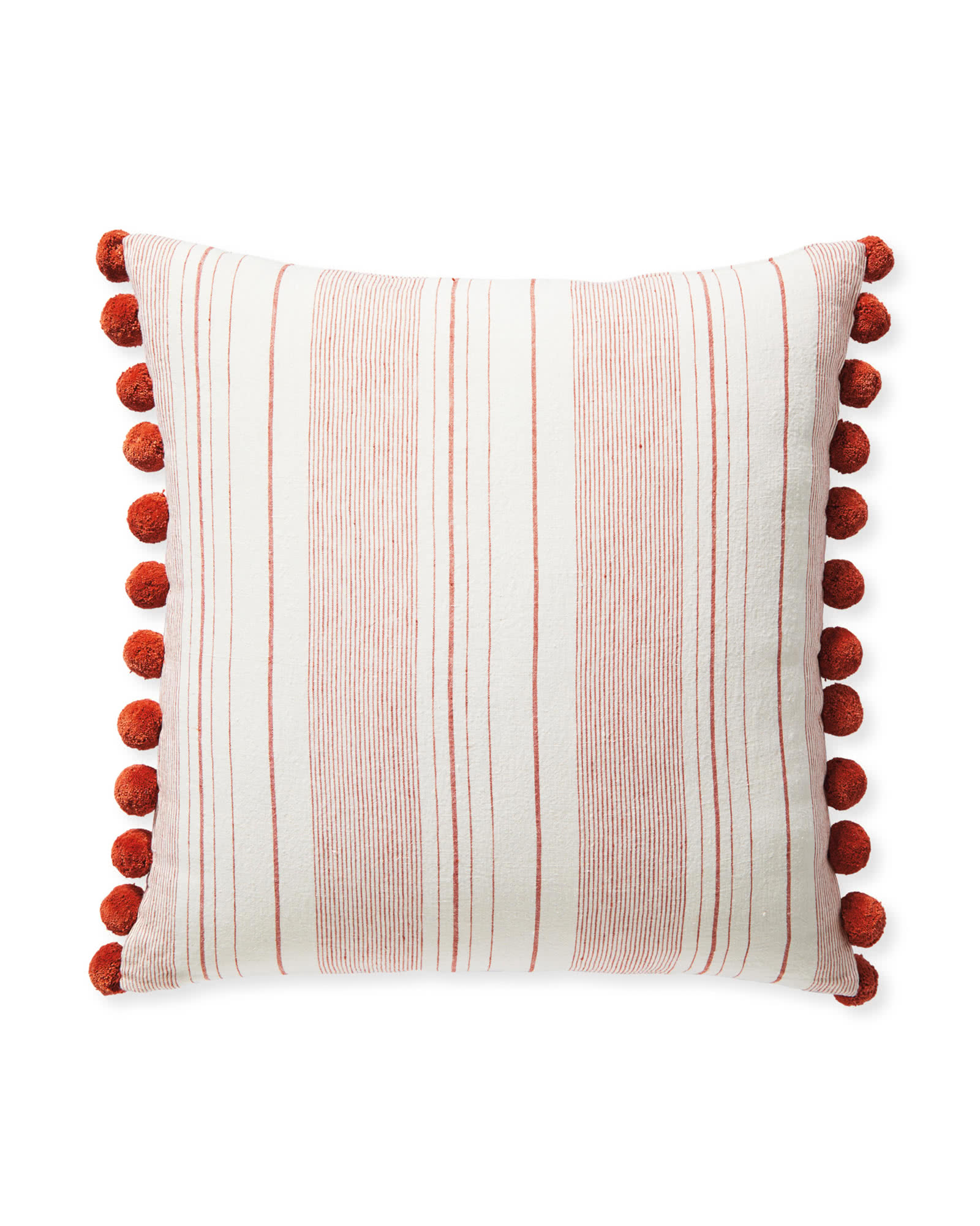 Luca Pillow Cover, Terracotta