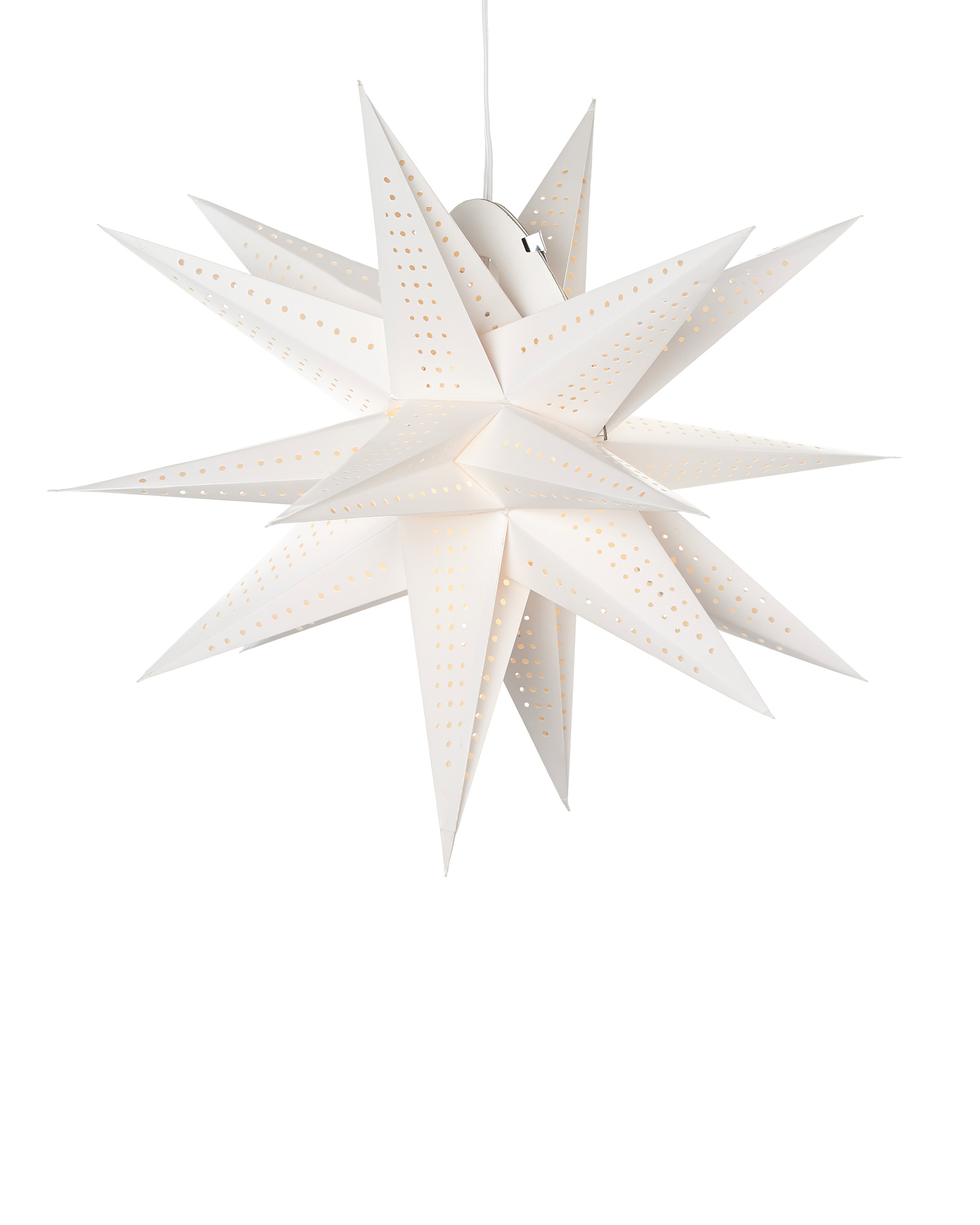 Paper pendant moravian star lighting serena and lily paper pendant moravian star aloadofball Choice Image