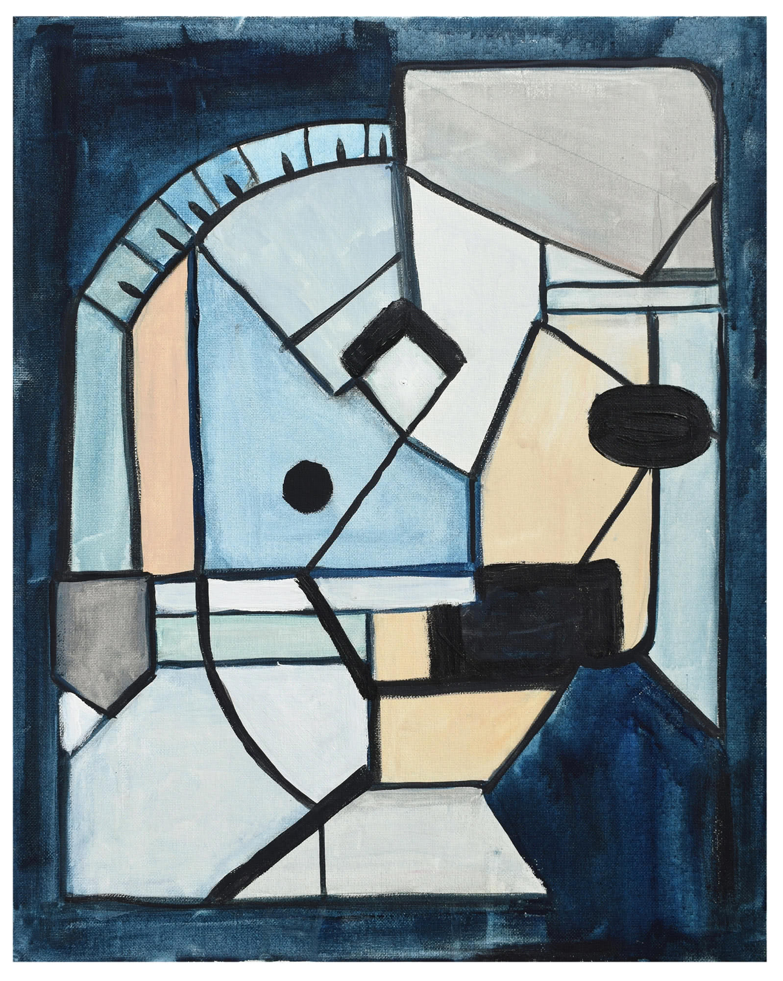 """""""Picasso Face"""" by Kristin Gaudio Endsley,"""