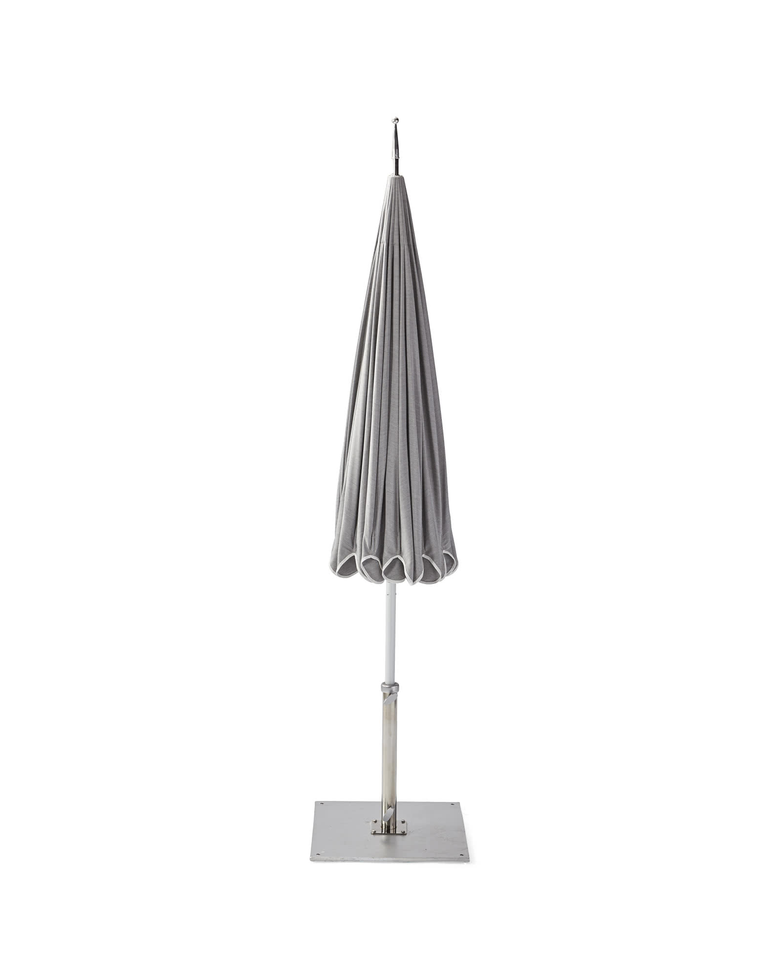 Eastport Umbrella, Platinum/White