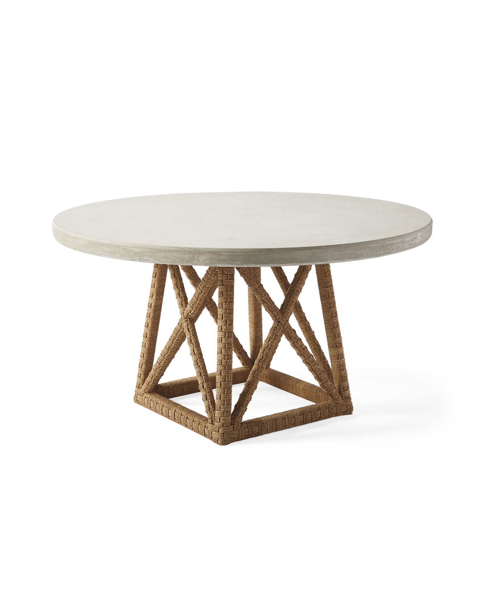 Thornhill Round Dining Table, Fog
