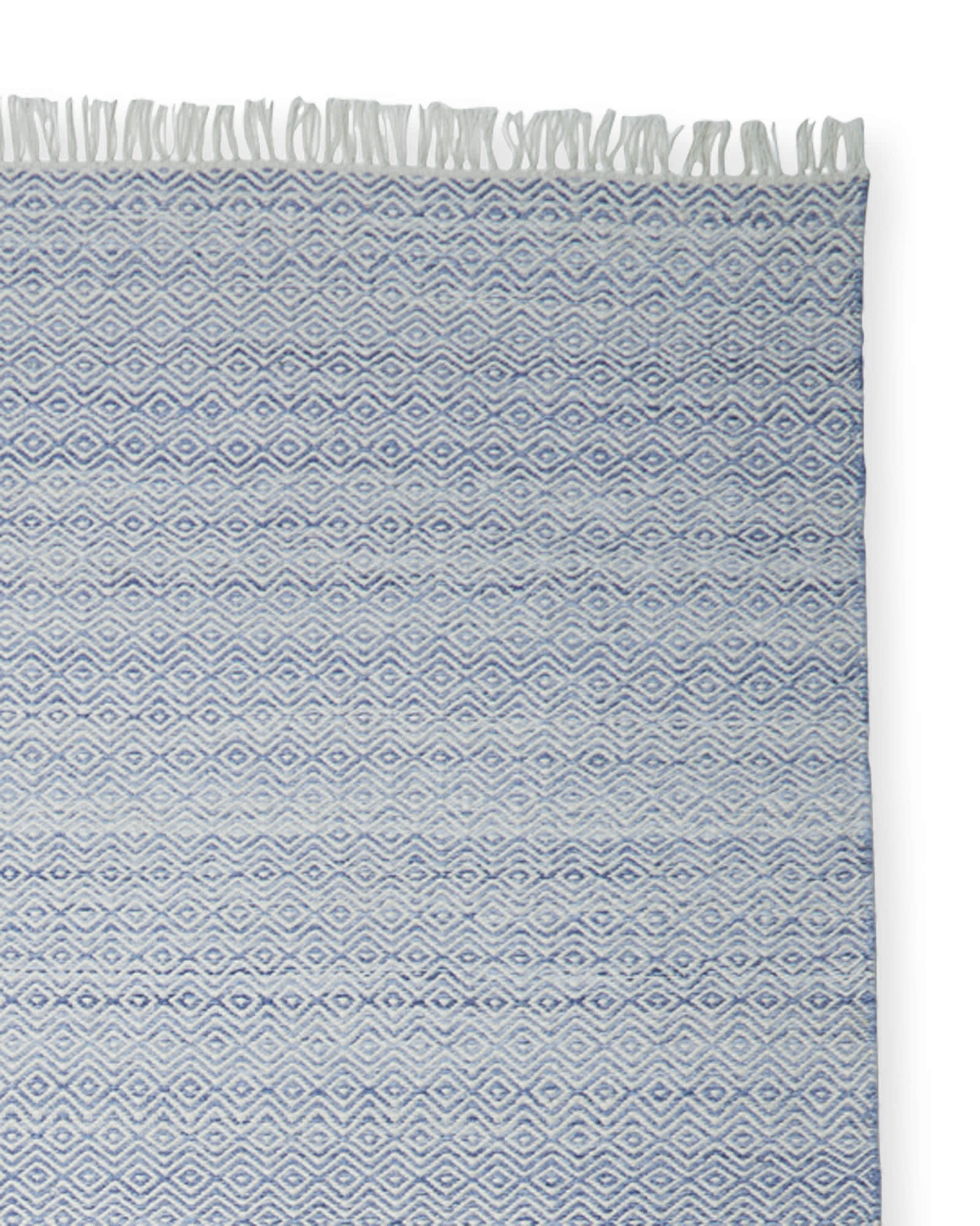 Seaview Rug Swatch, Blue