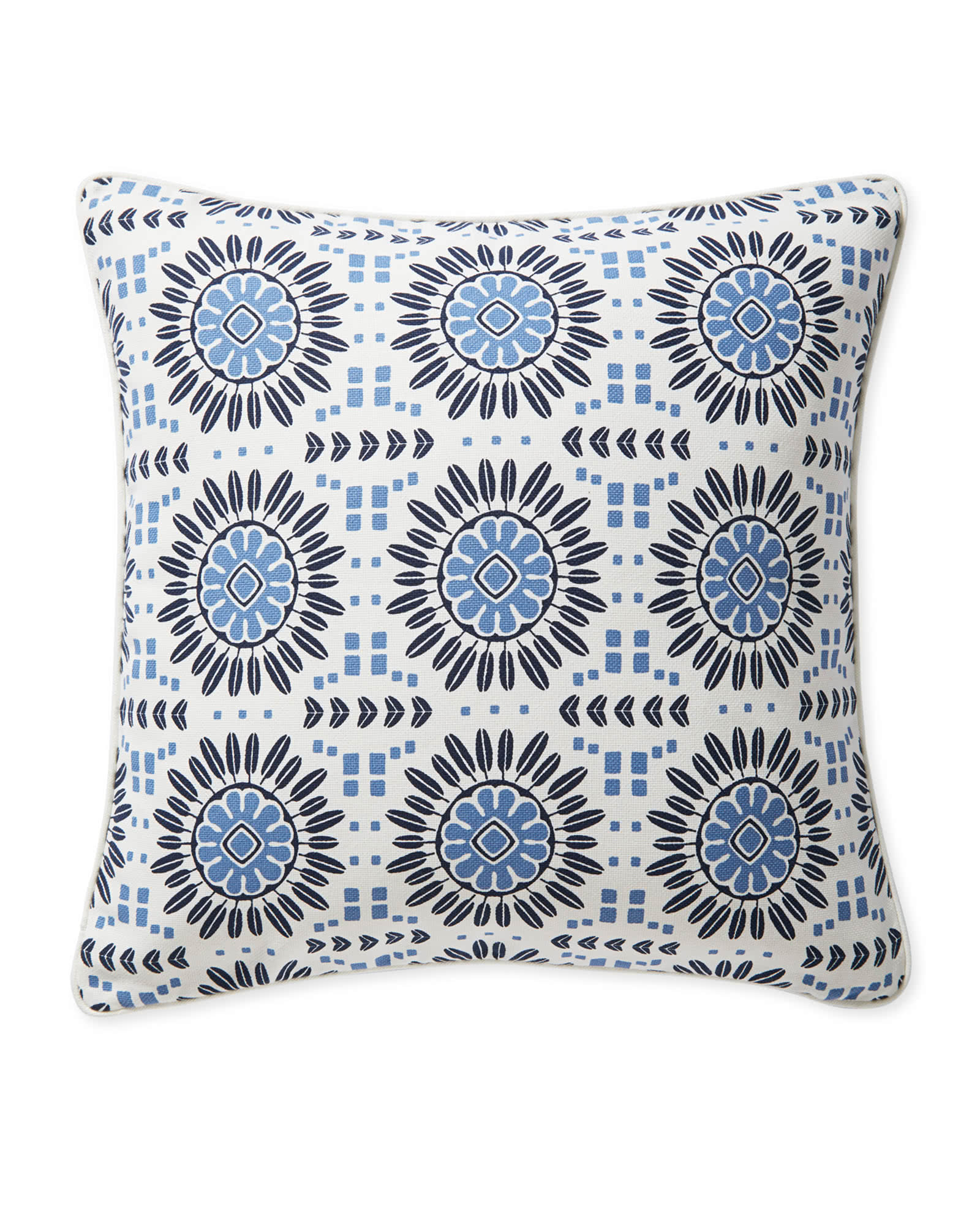 Campania Pillow Cover, Blue
