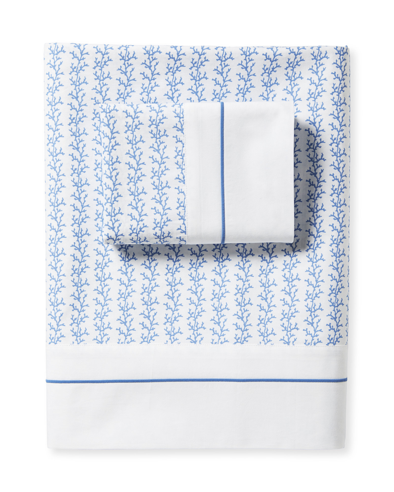 Beach Bay Sheet Set, French Blue