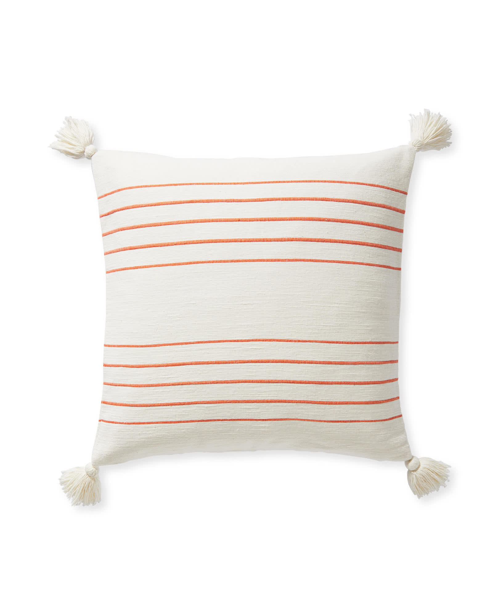 Del Mar Pillow Cover, Papaya