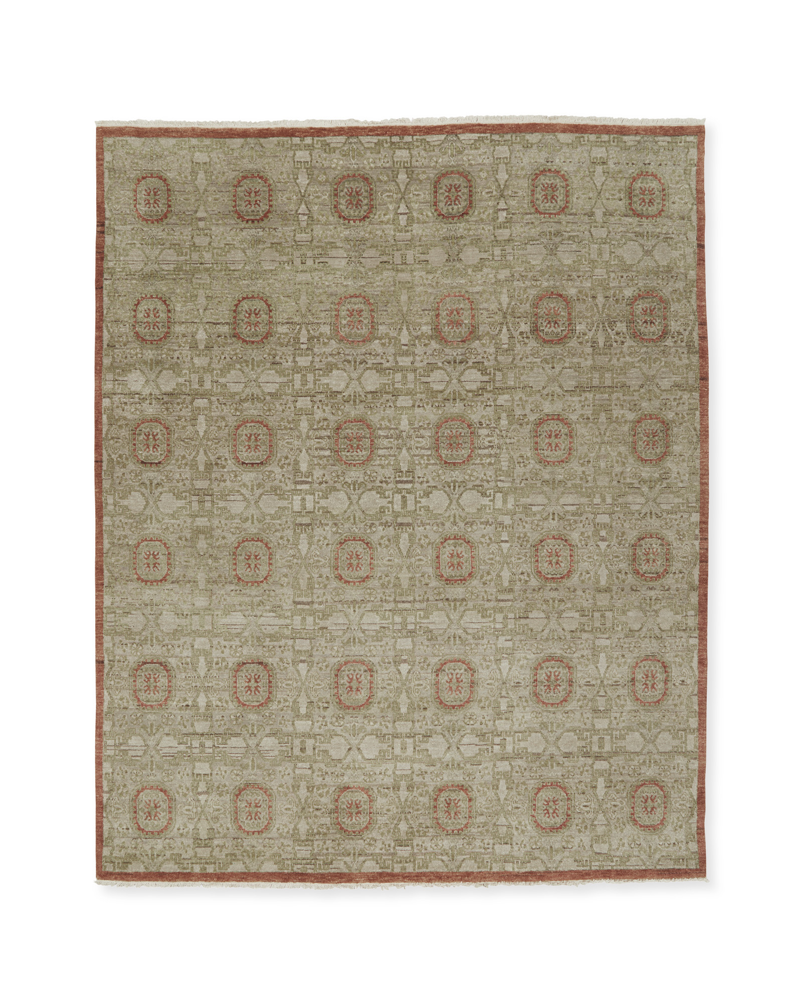 Sutton Hand-Knotted Rug,
