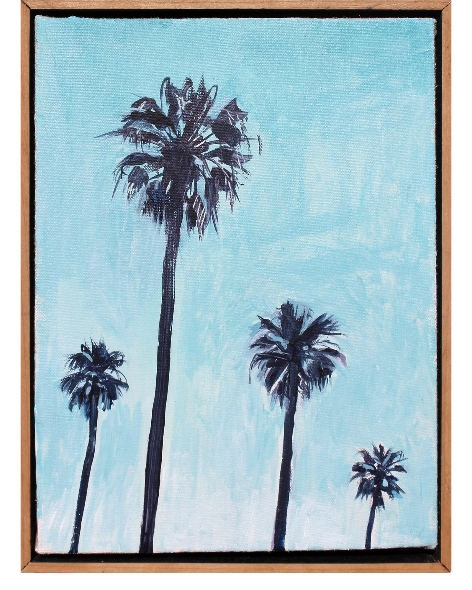 """Turquoise Palms"" by John Bucklin"