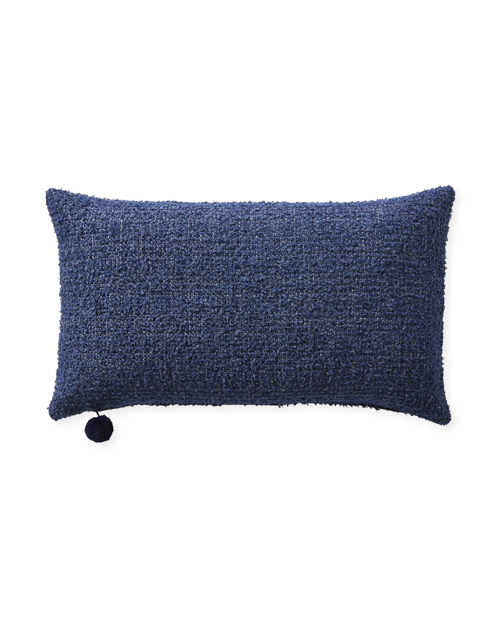 Perennials Performance Textured Loop Pillow Cover, Navy