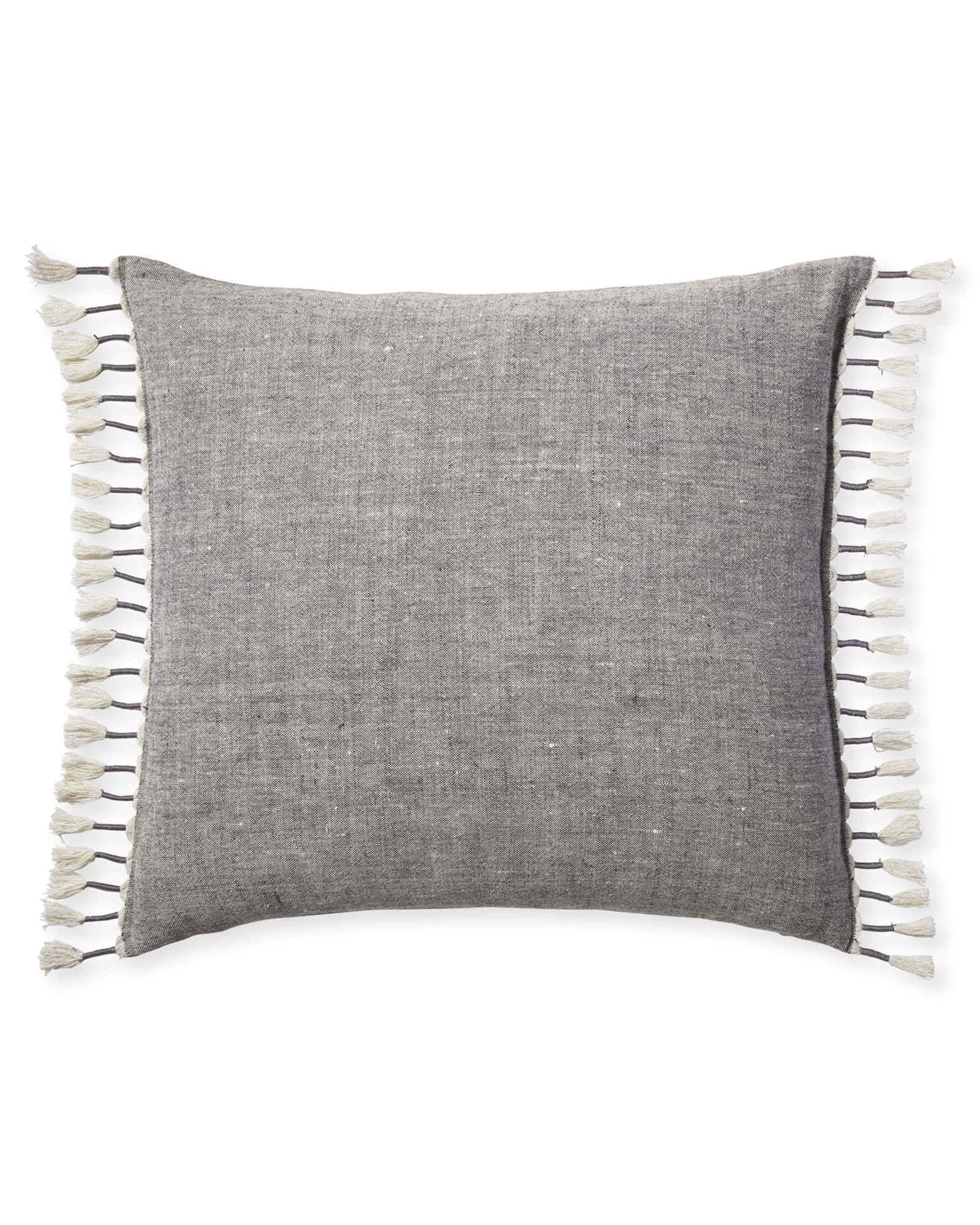 Topanga Pillow Cover, Grey