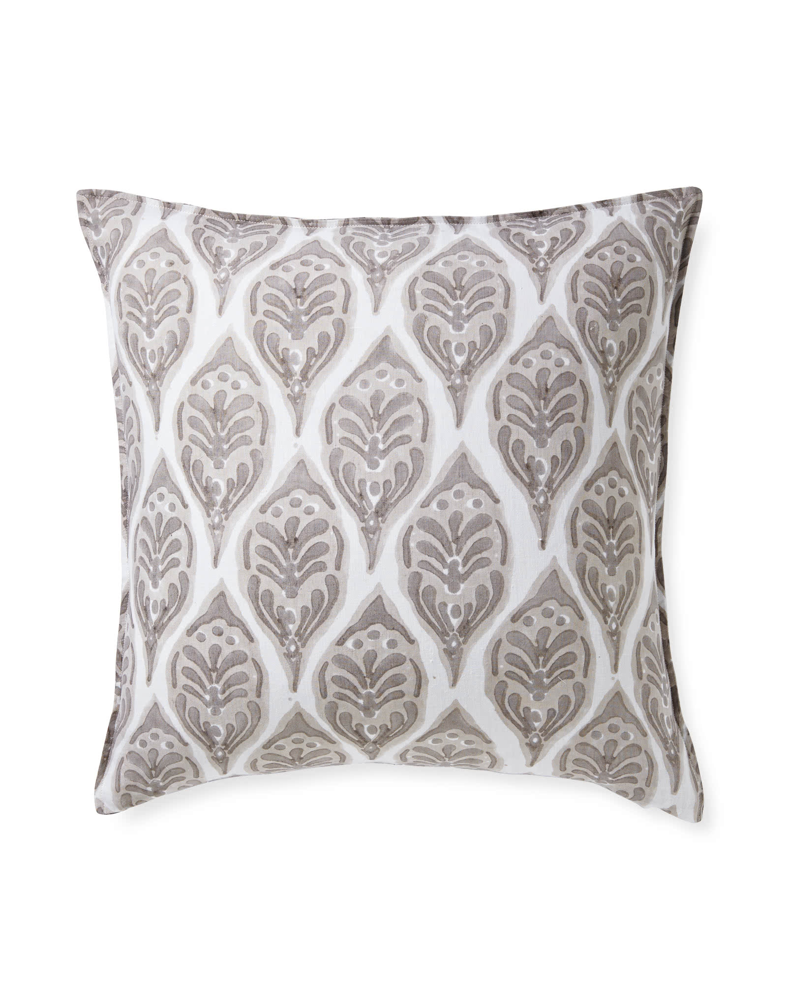 Magnolia Pillow Cover, Bark