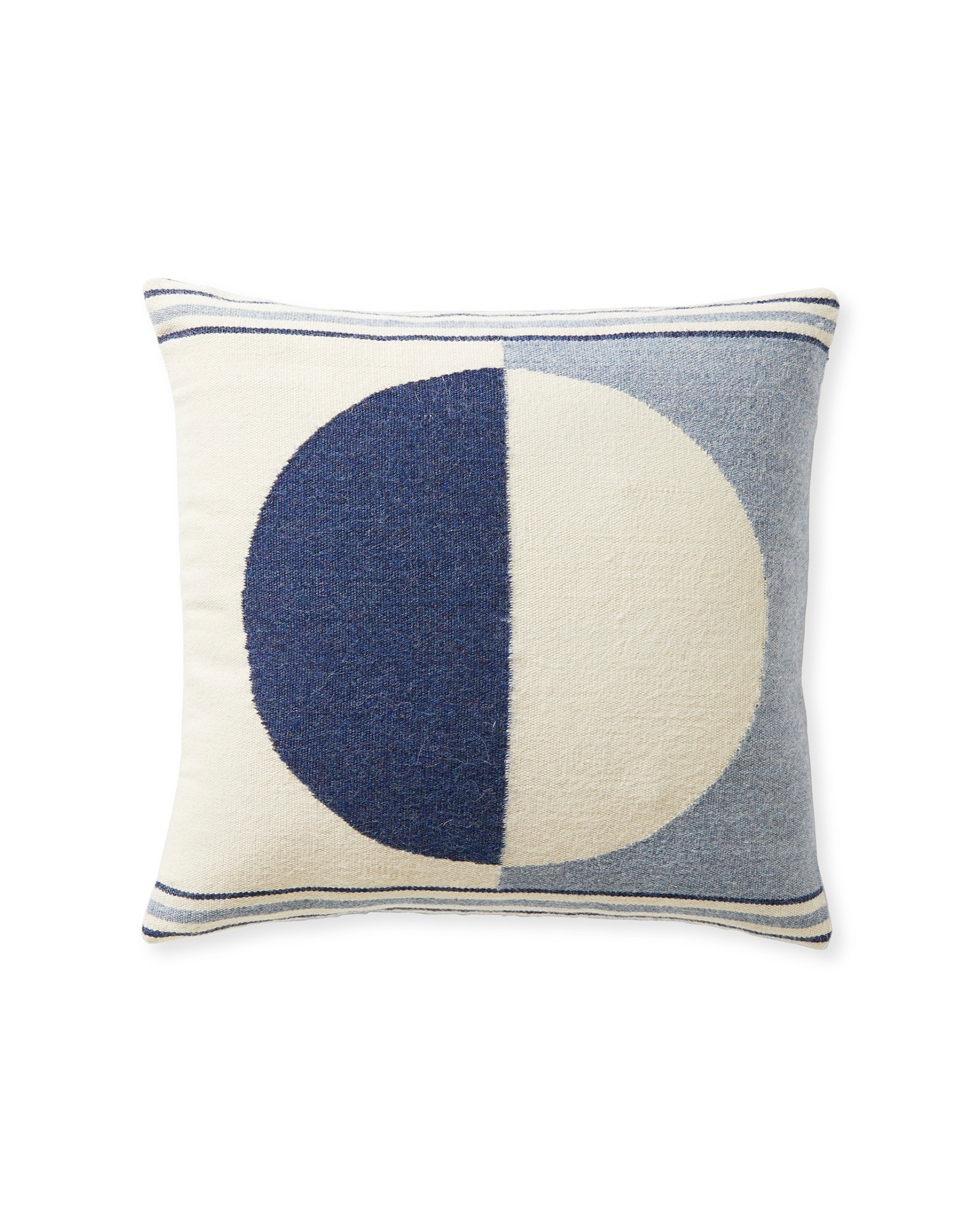 Bayview Pillow Cover, Blue