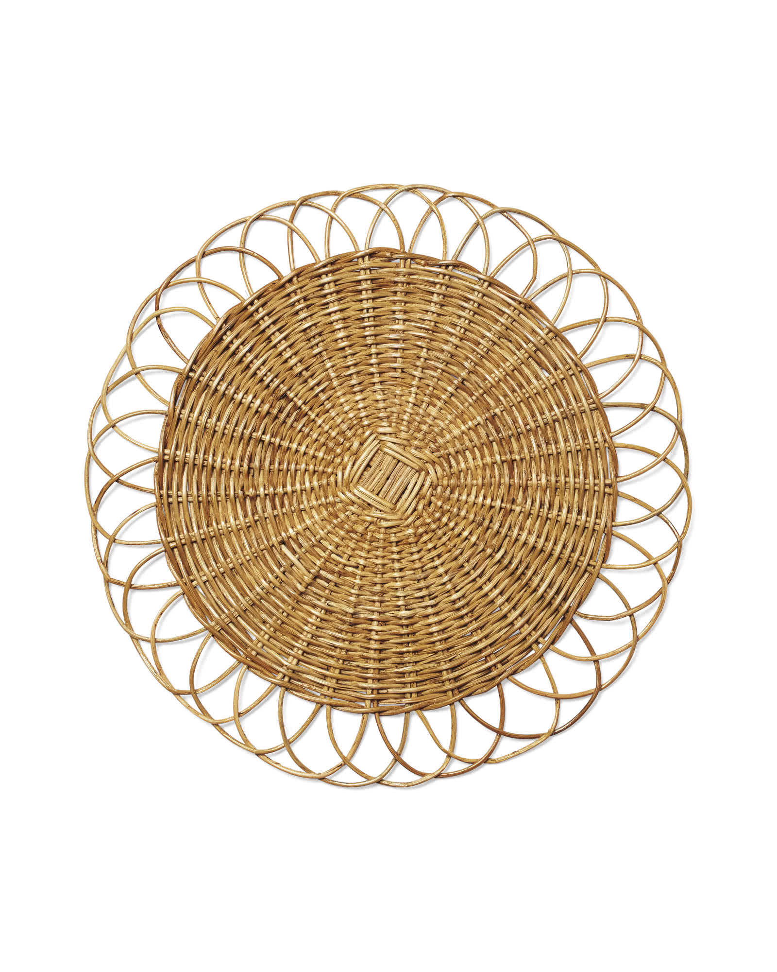 Round Rattan Placemat Serena Amp Lily