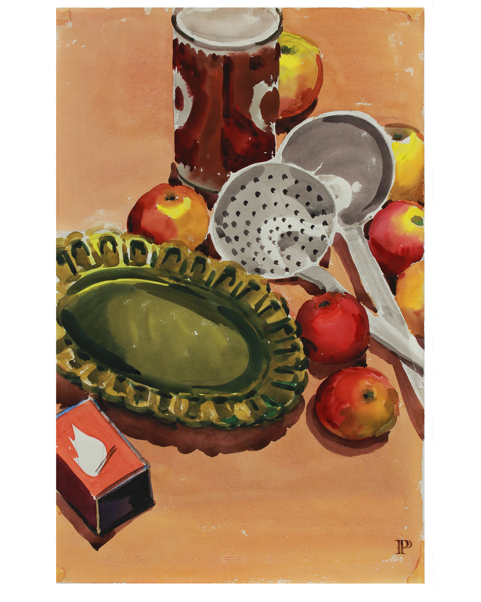 """""""Still Life with Ladle"""" by Frederick Pomeroy,"""