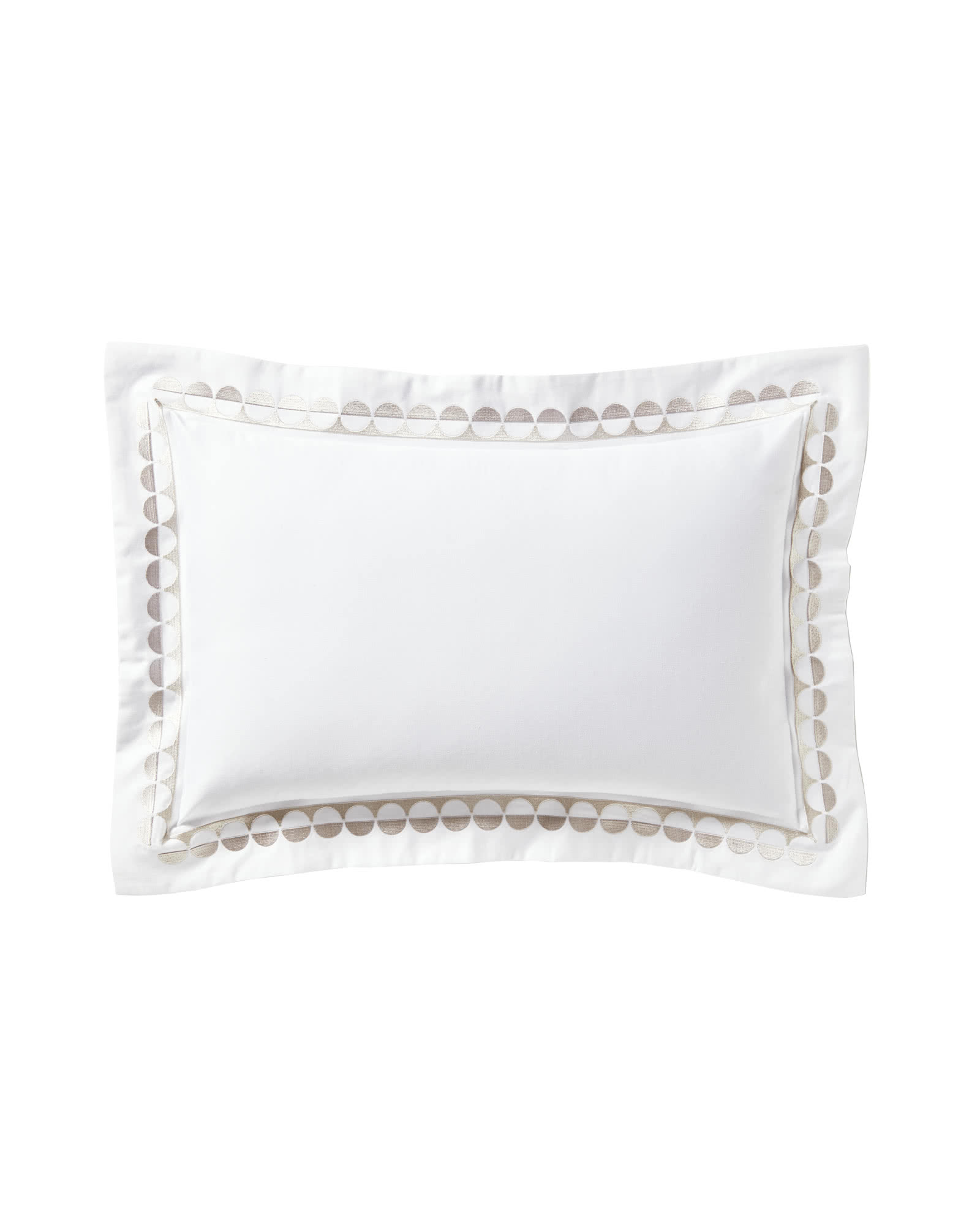 Oceanside Boudoir Pillow, Sand