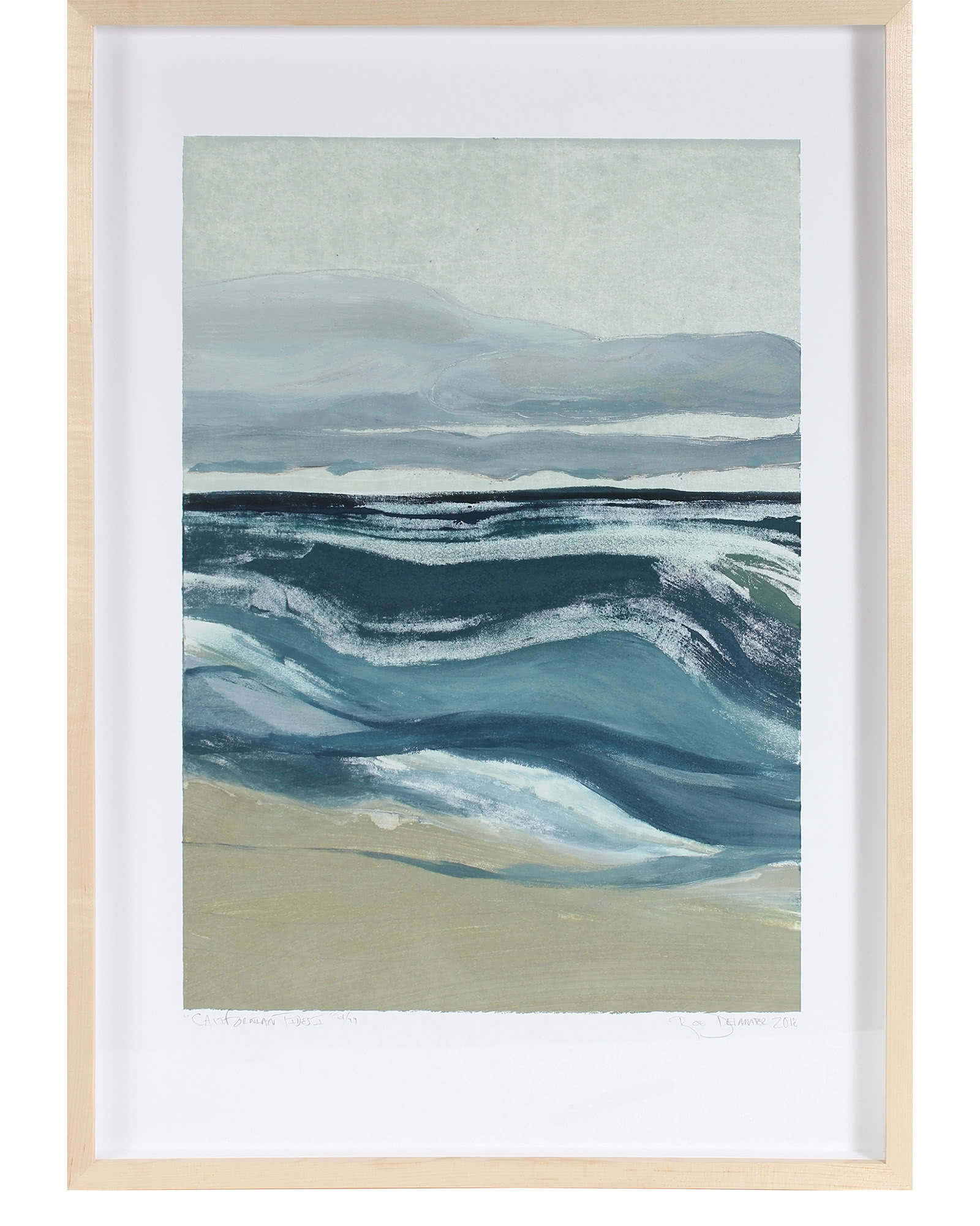 """Californian Tides I"" by Rob Delamater,"