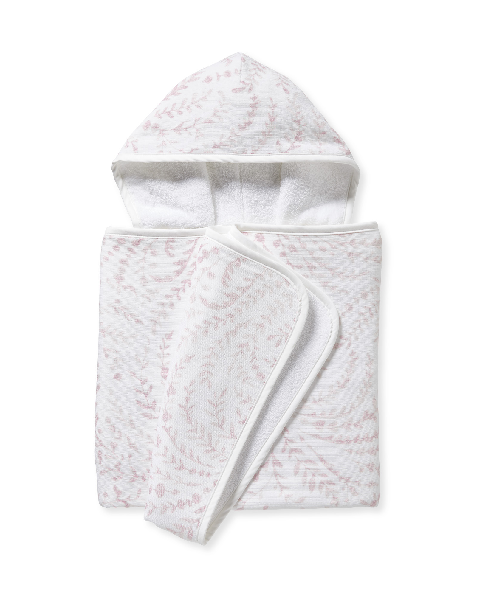 Priano Hooded Towel, Pink Sand