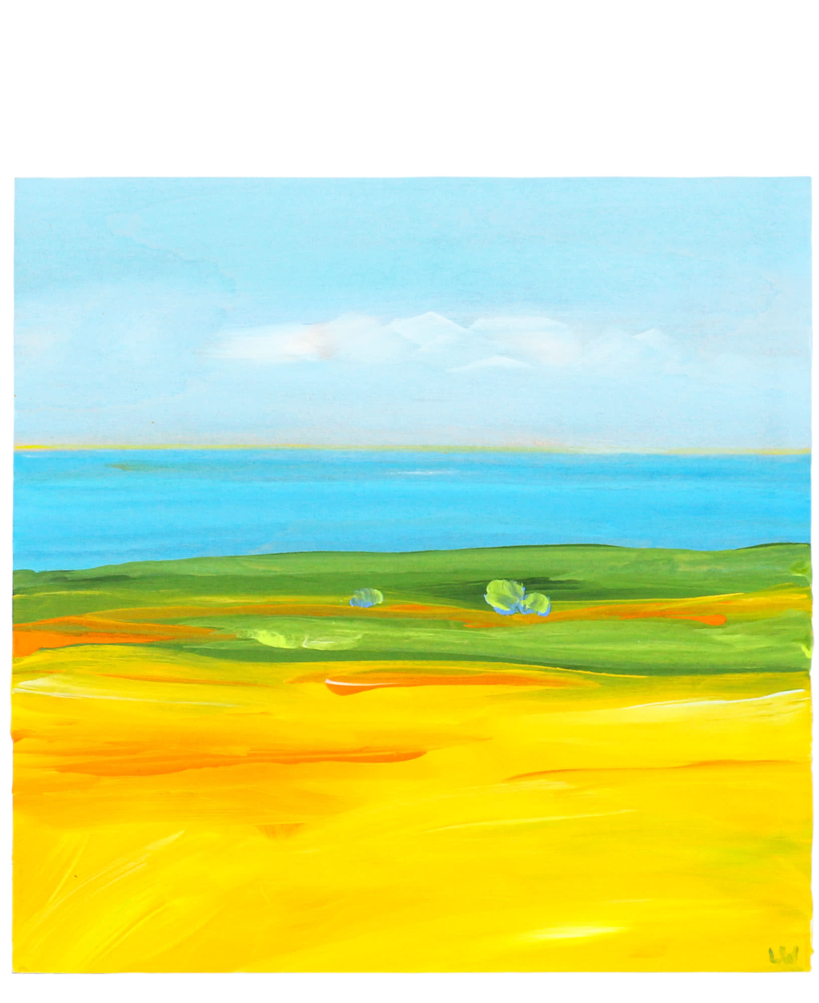 """""""Mustard by the Sea"""" by Laurie Winthers,"""