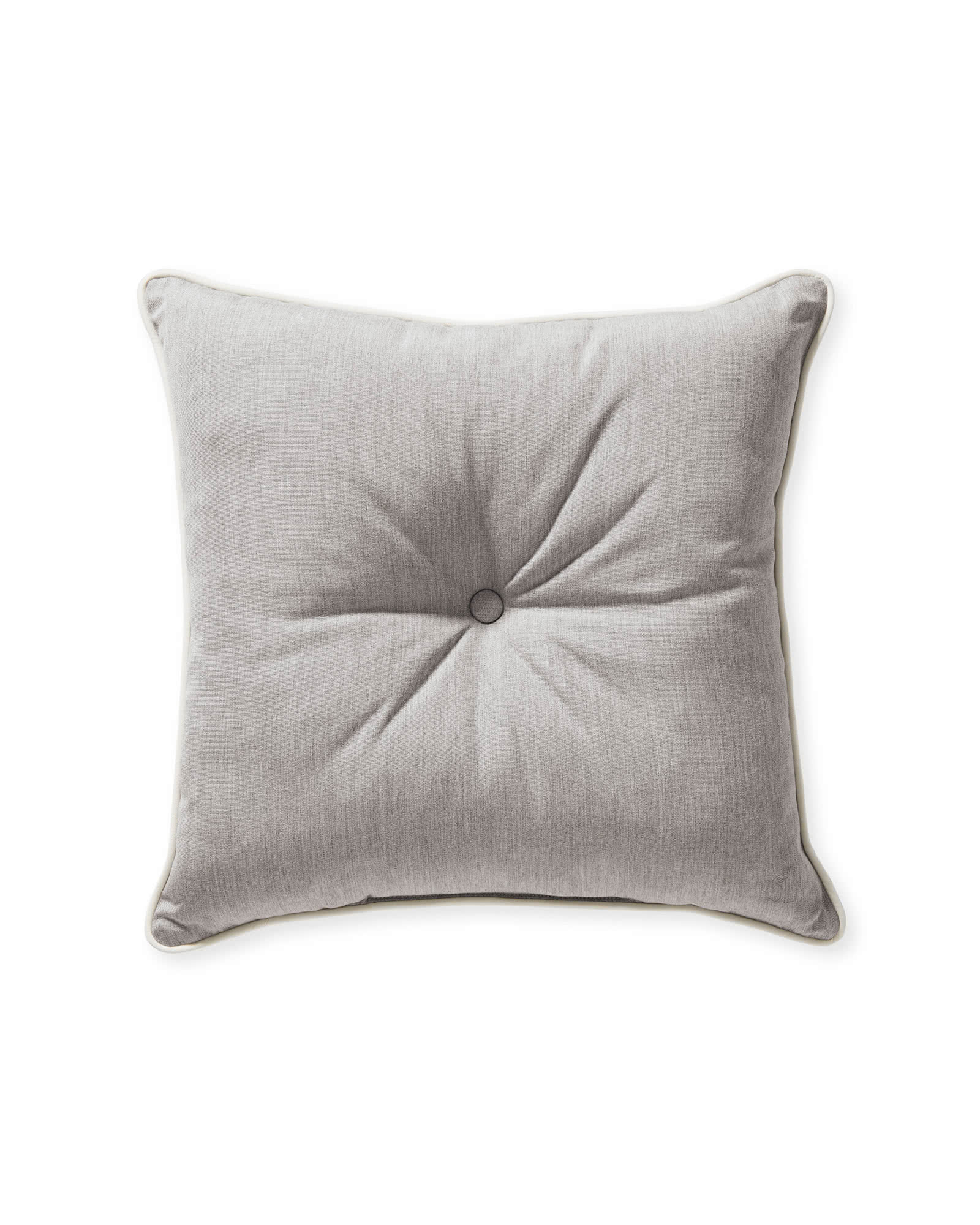 Sunbrella® Lido Pillow, Smoke