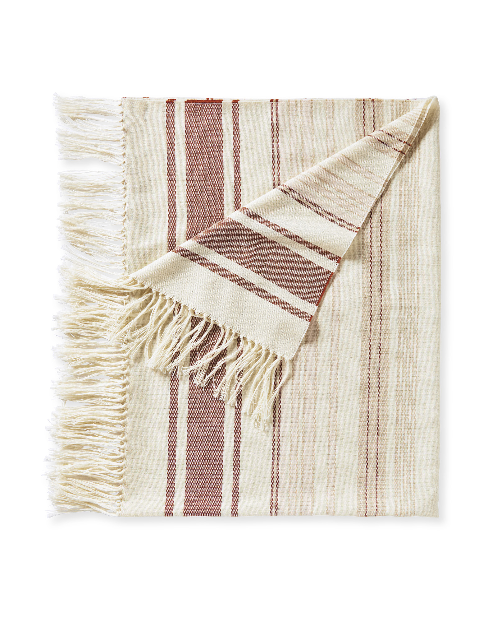 Ambleside Alpaca Throw, Wild Rose/Terracotta