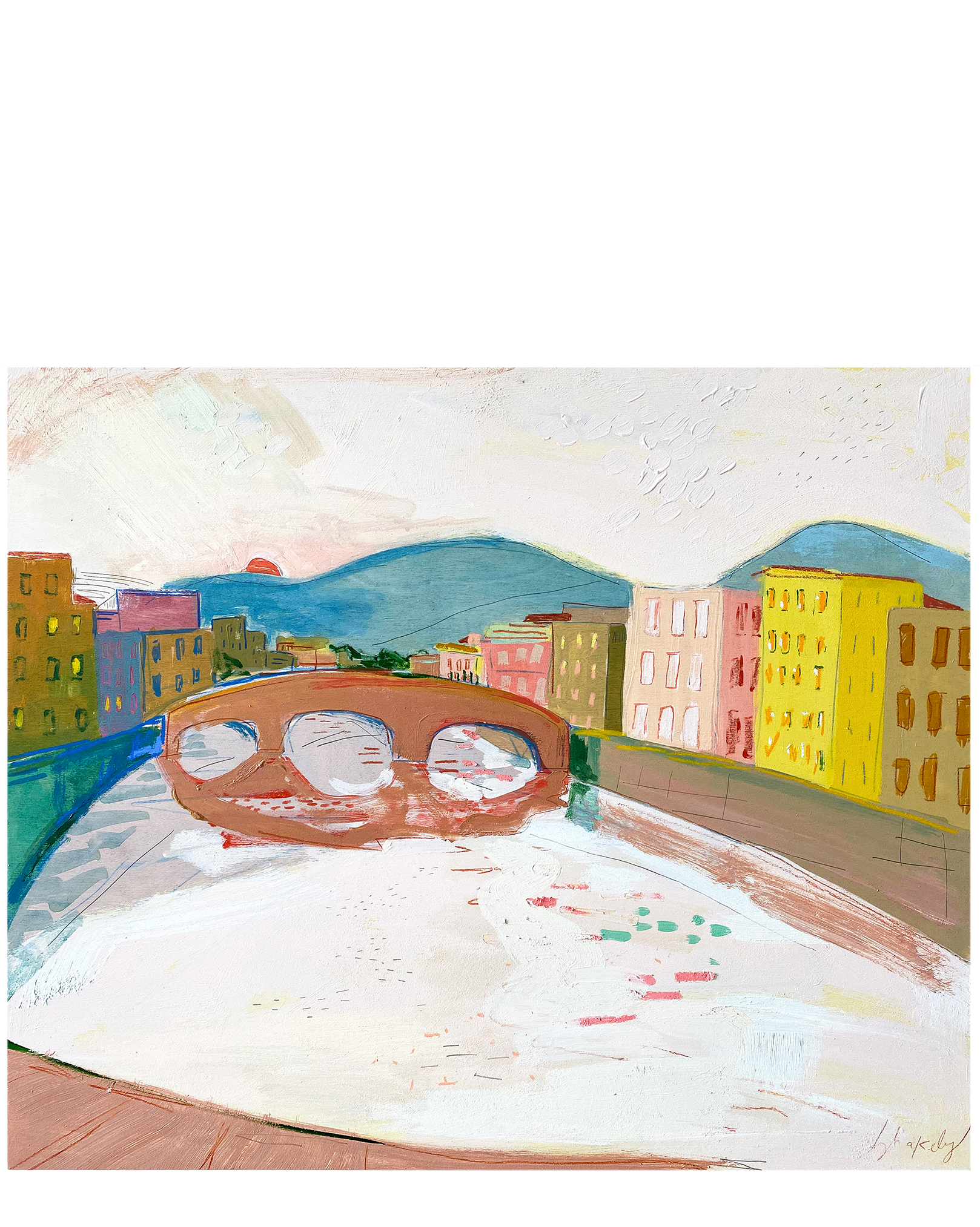 Firenze in Pink' by Blakely Made,