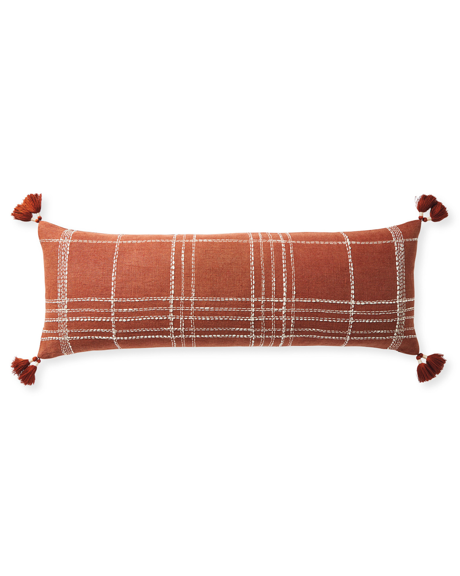 Asheville Pillow Cover, Terracotta