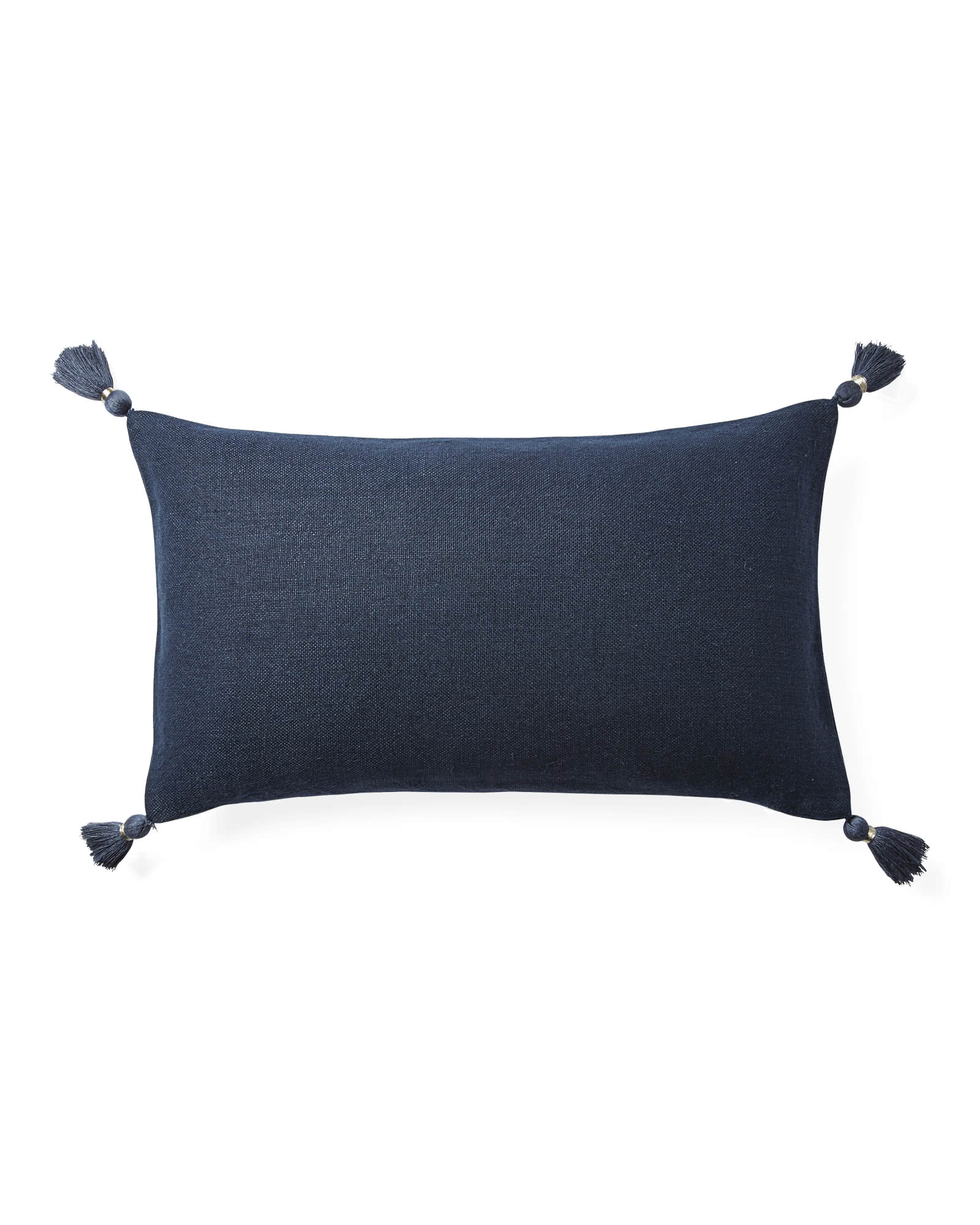 Eva Tassel Pillow Cover, Midnight