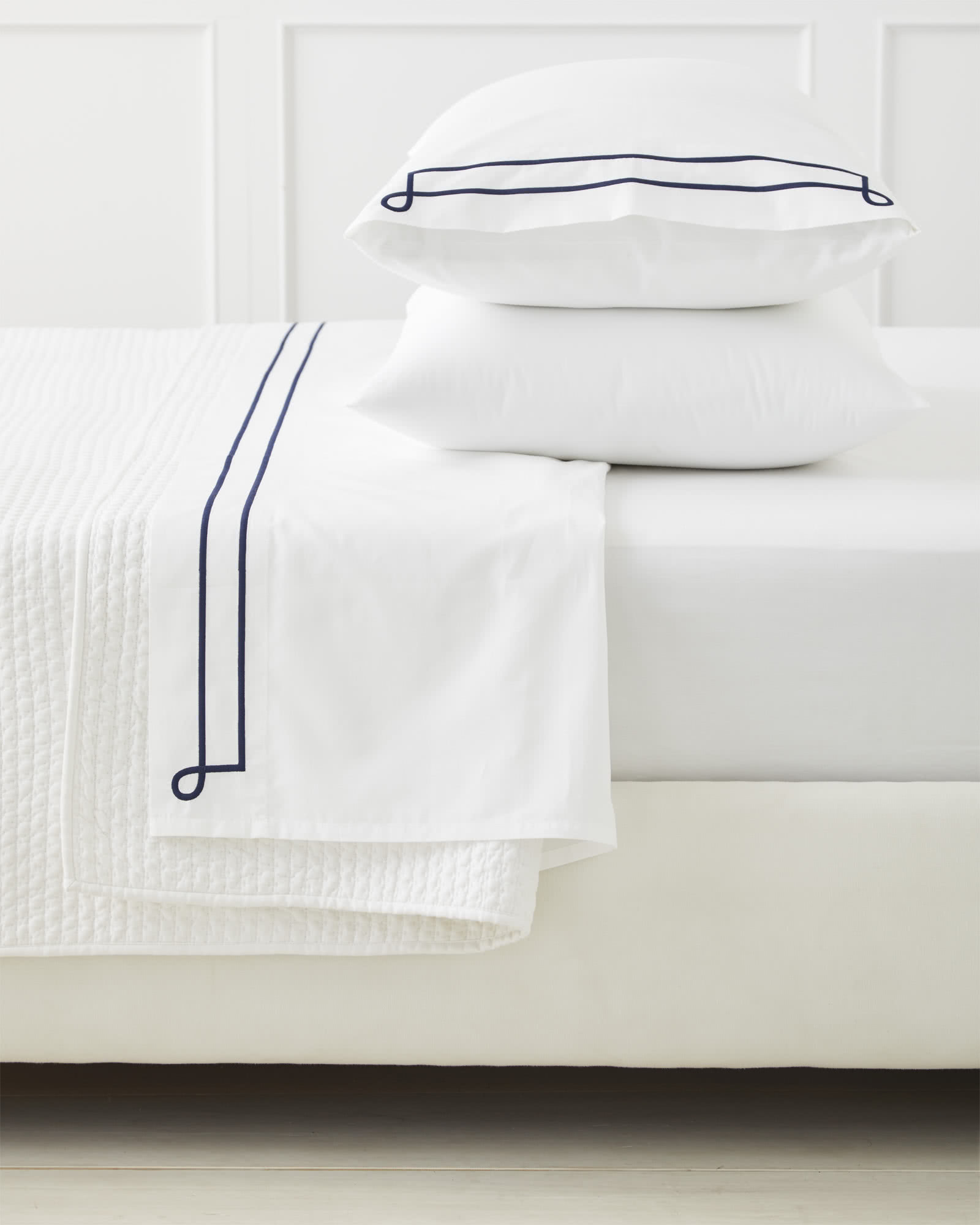 Southport Pillowcases (Extra Set of 2), Navy