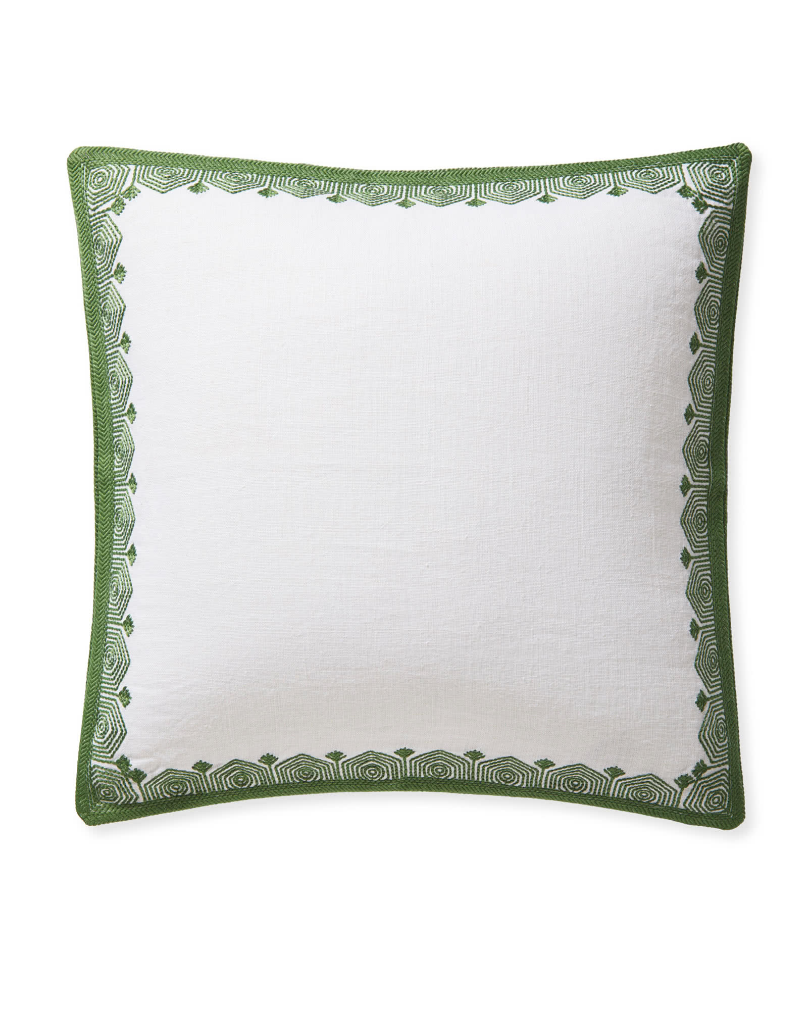 Olympia Pillow Cover, Moss