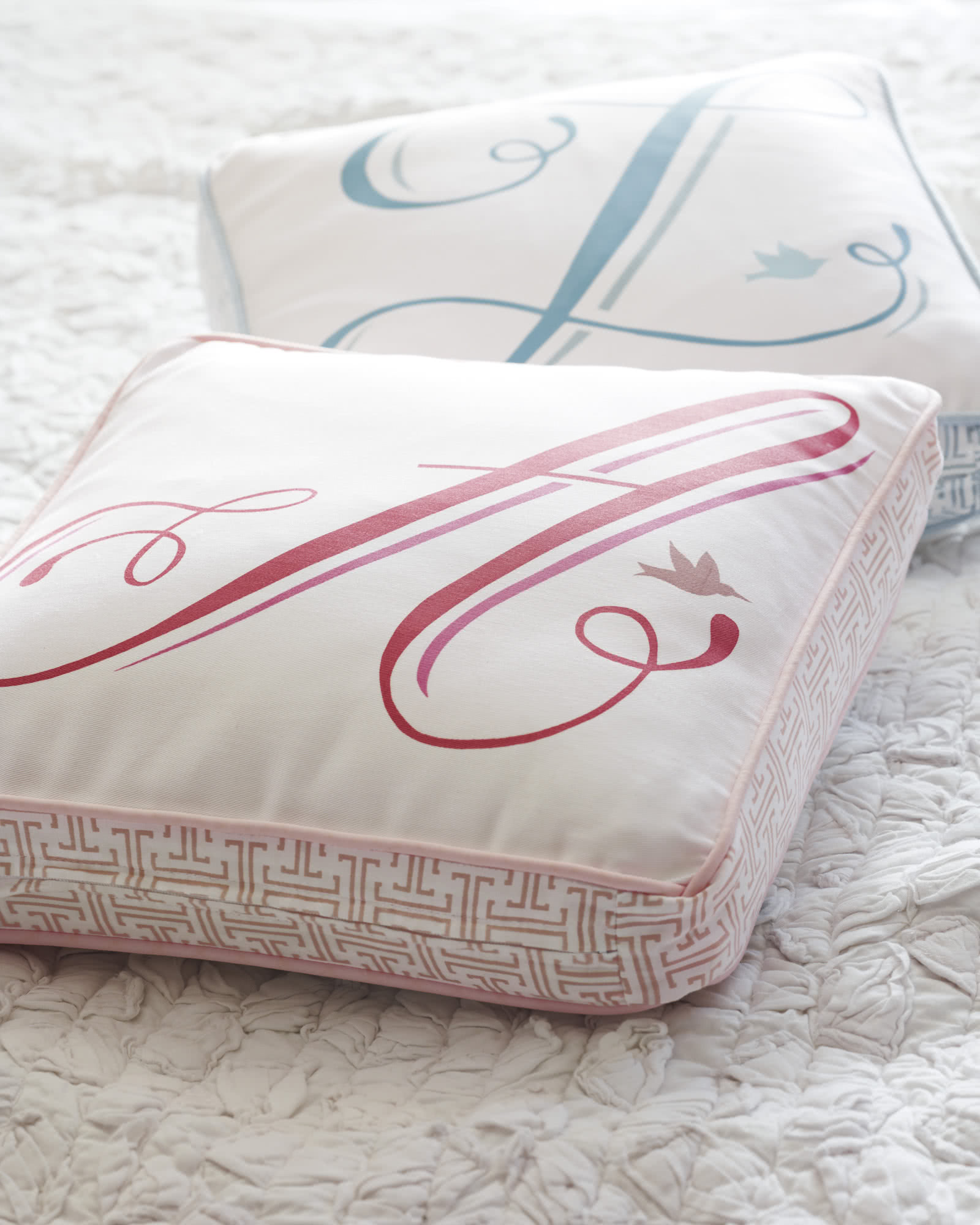 on orders pillows free over initial letter shipping overstock home garden product perfect pillow throw