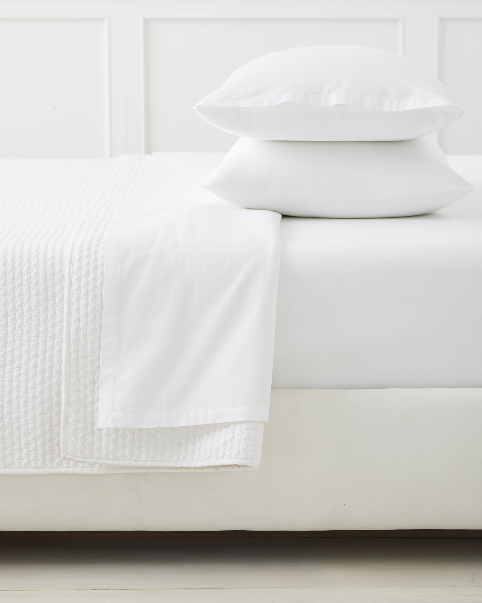 Wainscott Sheet Set, White
