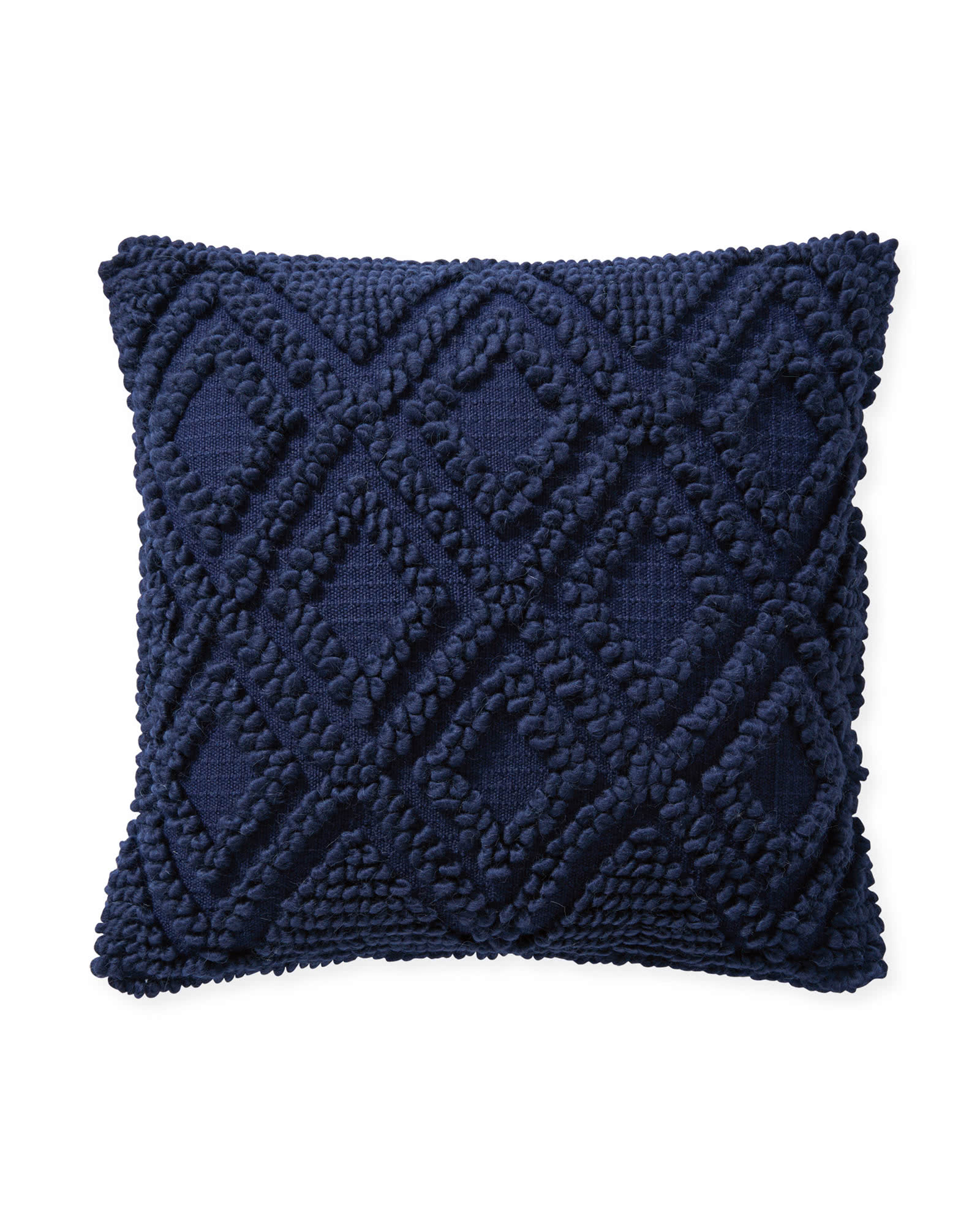 Amalie Pillow Cover, Navy