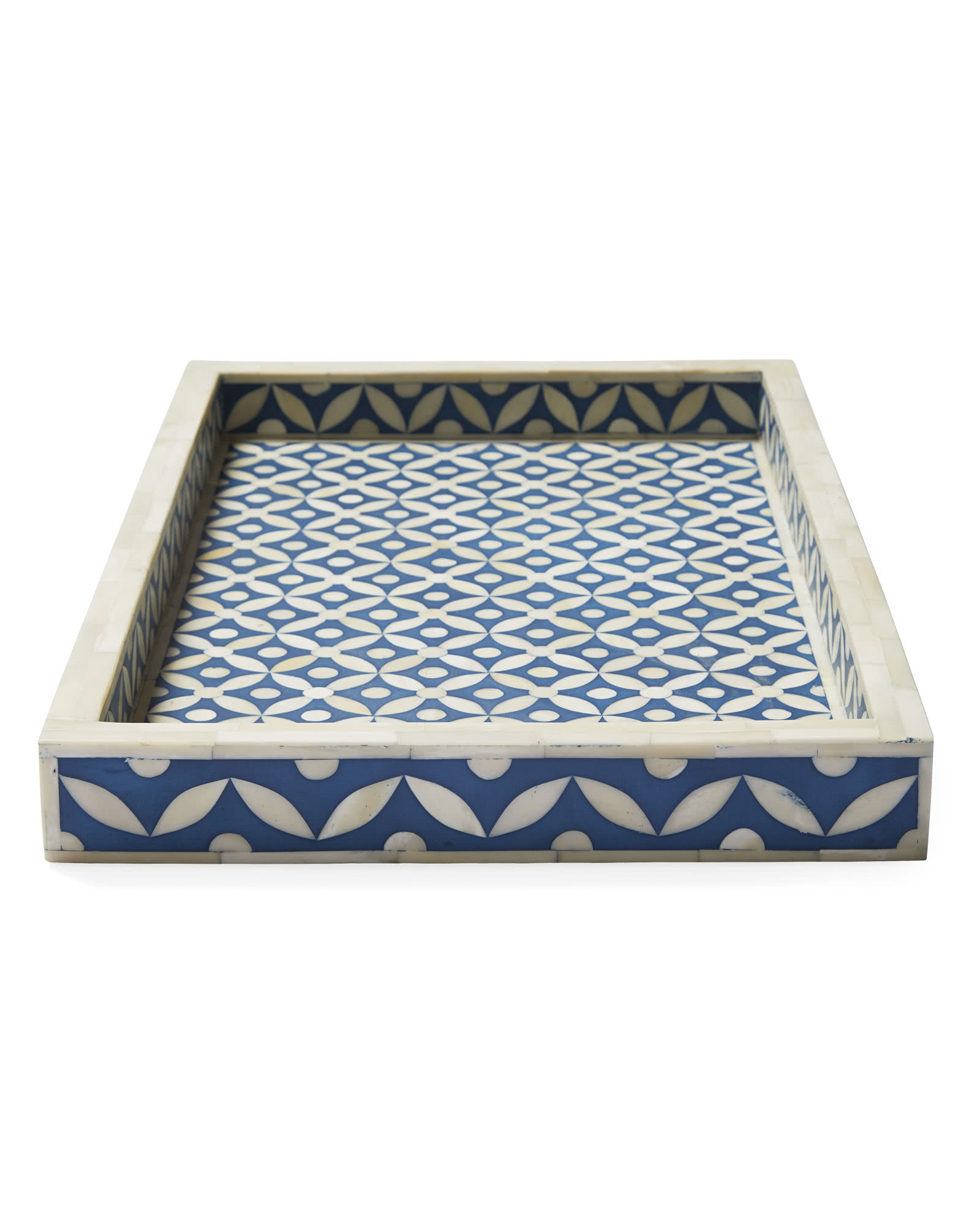 Leila Bone Inlay Tray,