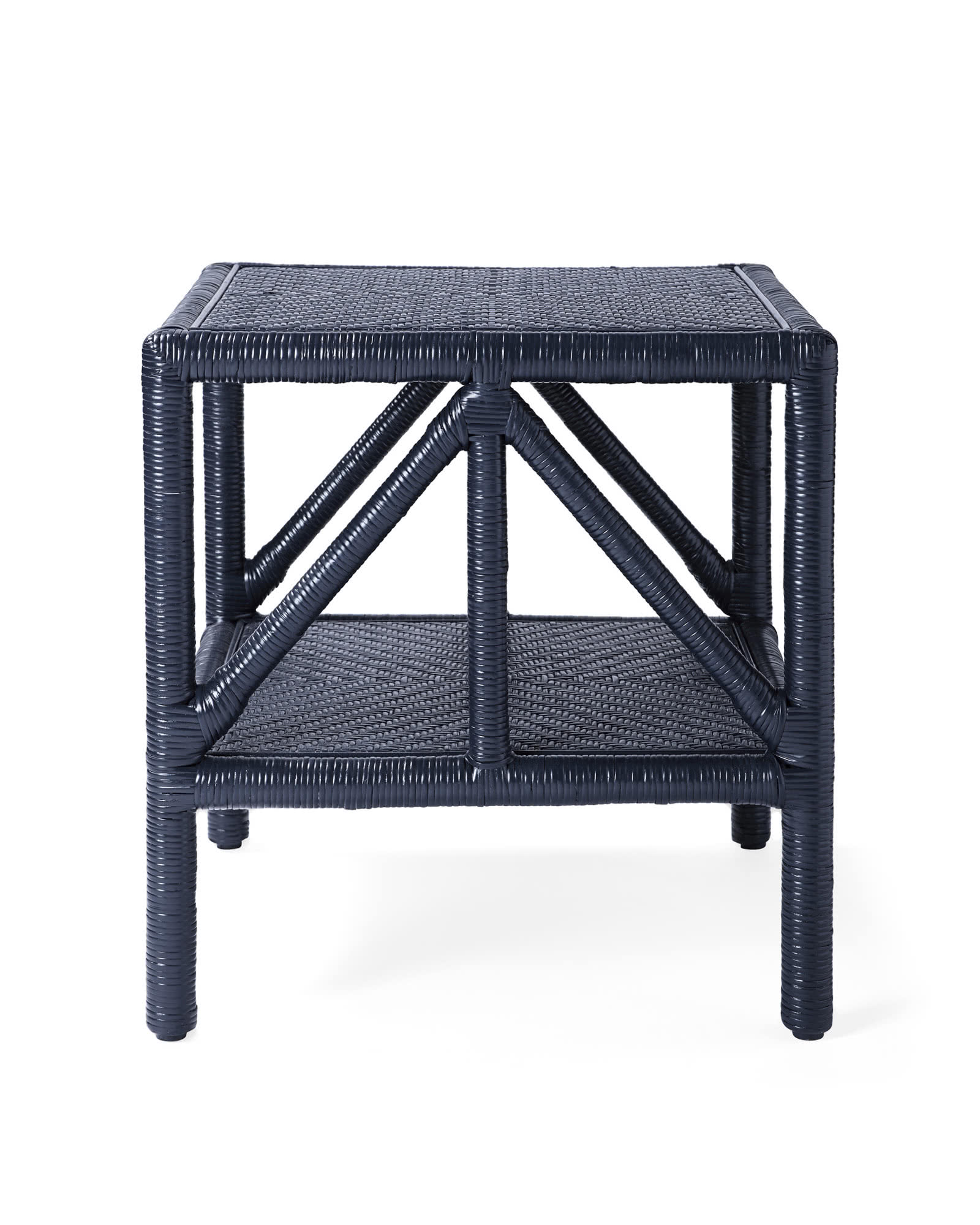 Trestle Side Table,