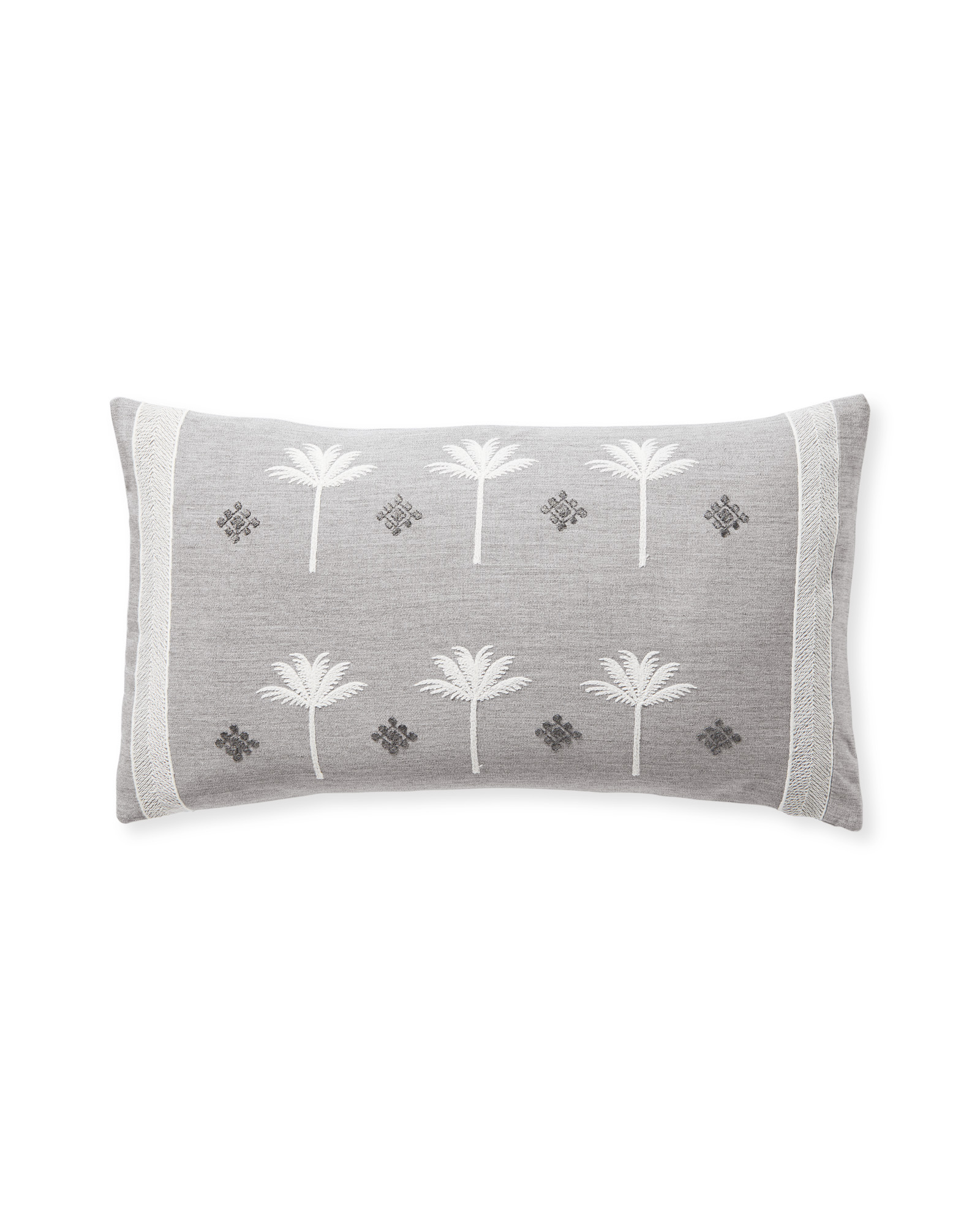 Veracruz Pillow Cover, Fog/Smoke