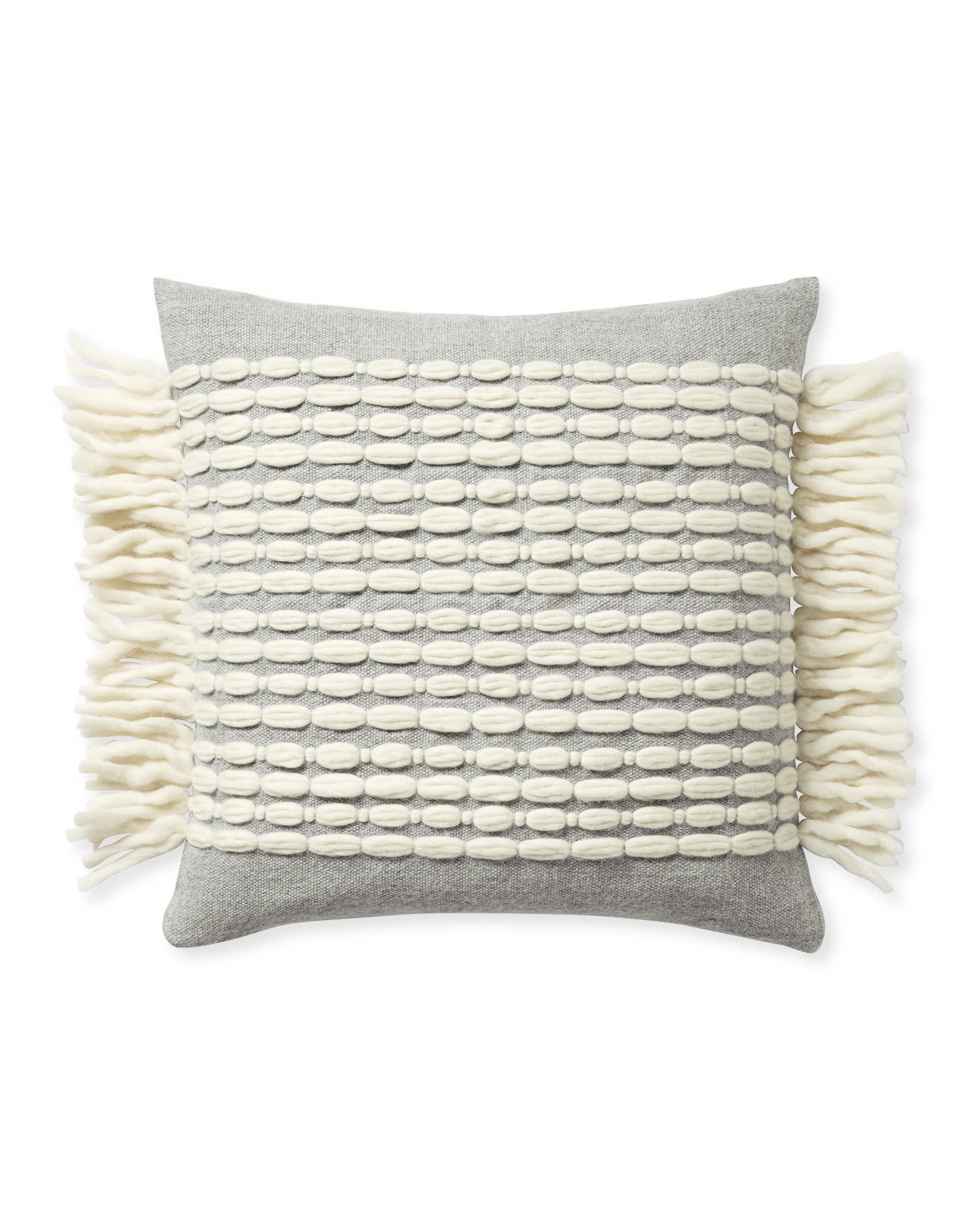 Winter Beach Pillow Cover,